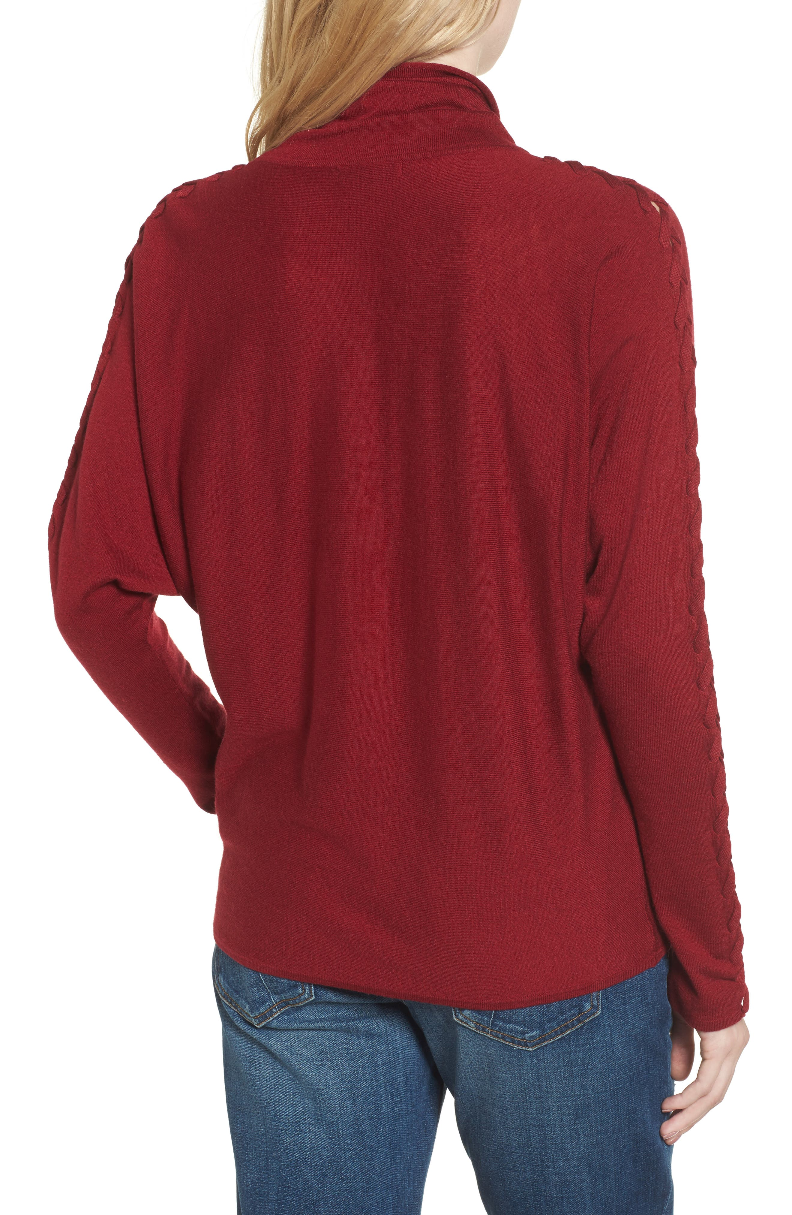 Victoire Turtleneck Sweater,                             Alternate thumbnail 4, color,