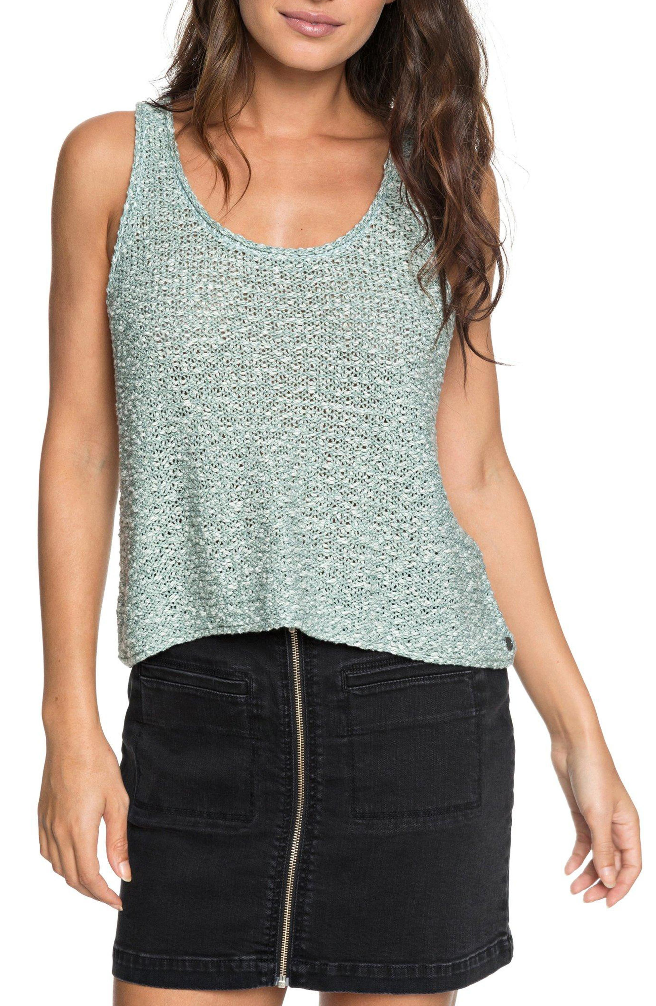 Army Shades Sweater Tank,                         Main,                         color, TRELLIS