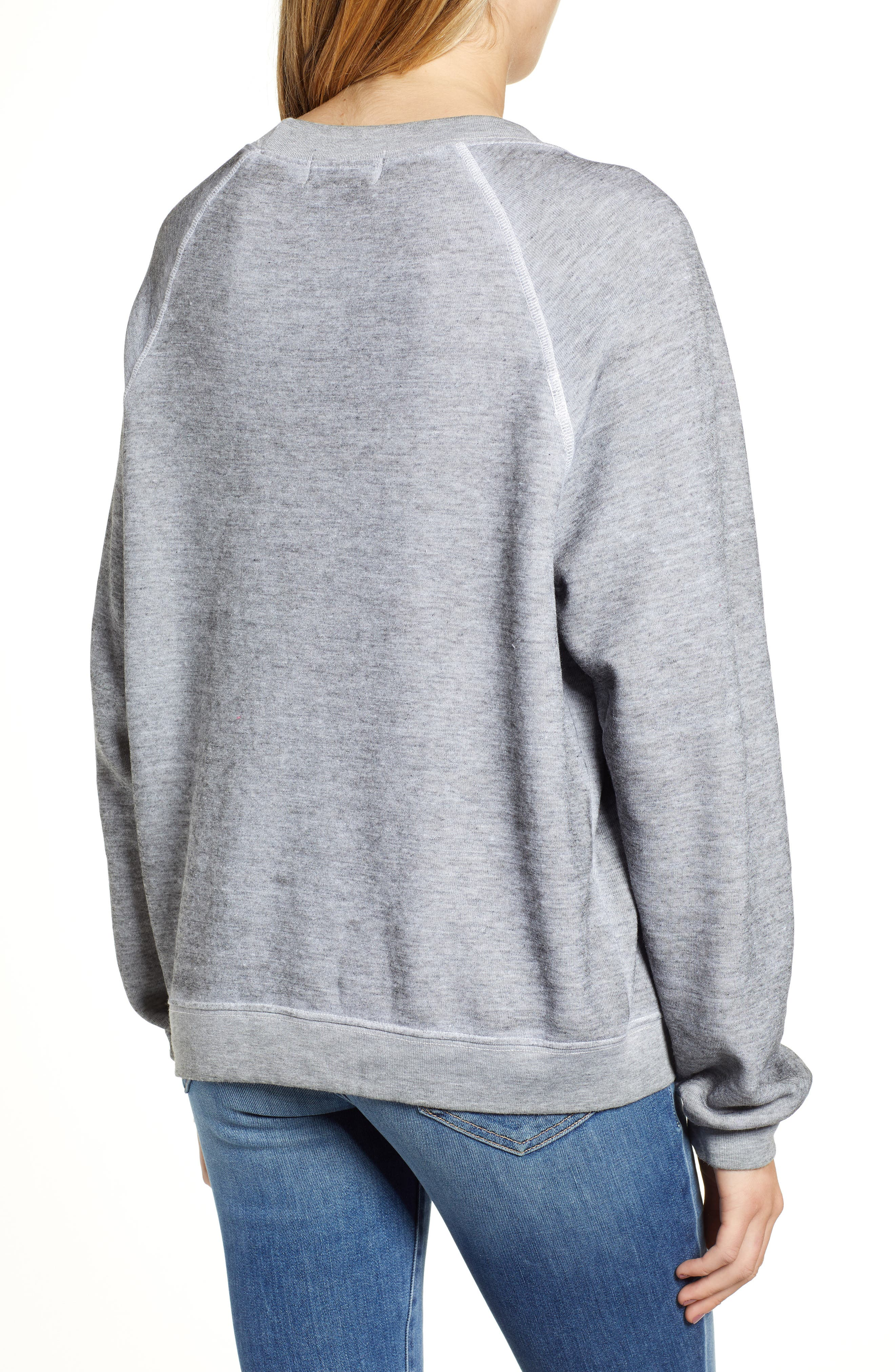 Pizzatarian Sommers Sweatshirt,                             Alternate thumbnail 2, color,                             HEATHER