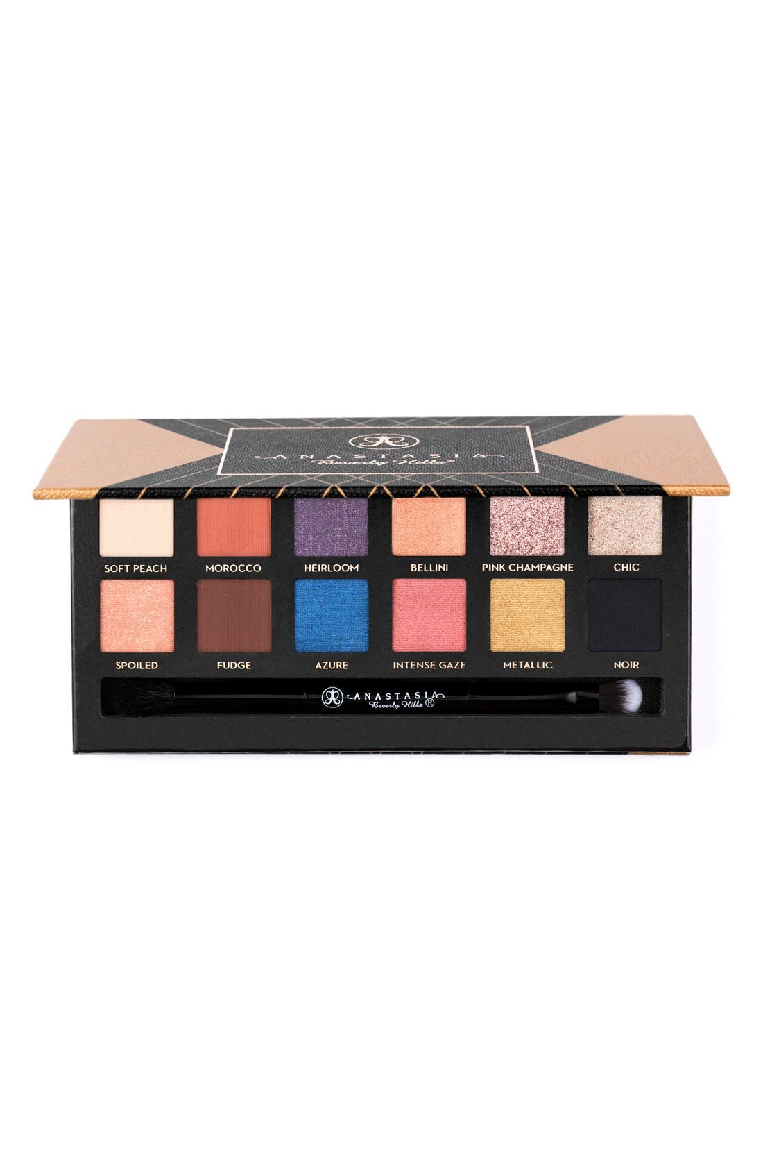 'World Traveler' Couture Eyeshadow Palette,                             Main thumbnail 1, color,                             000