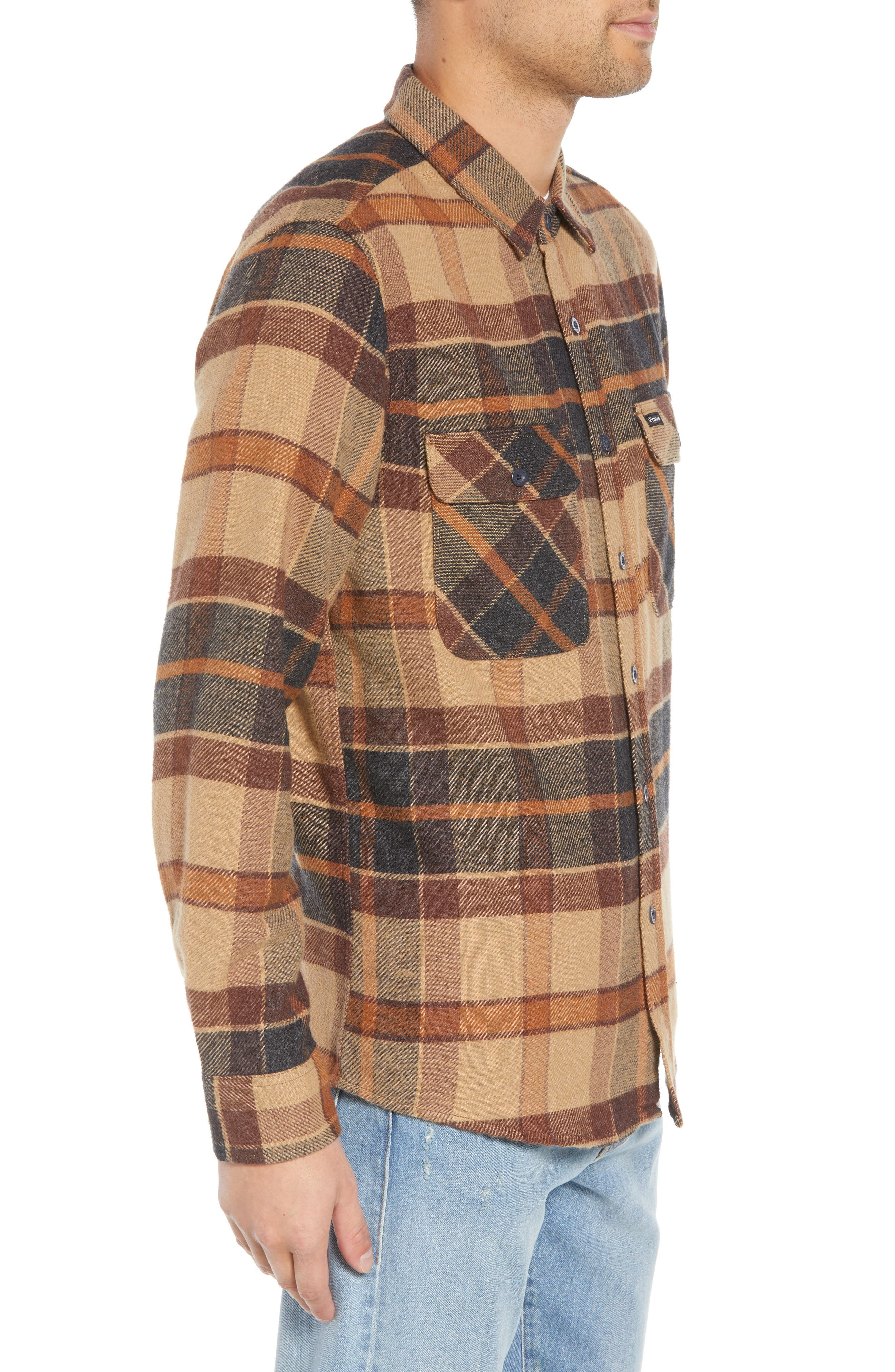 Bowery Flannel Shirt,                             Alternate thumbnail 39, color,