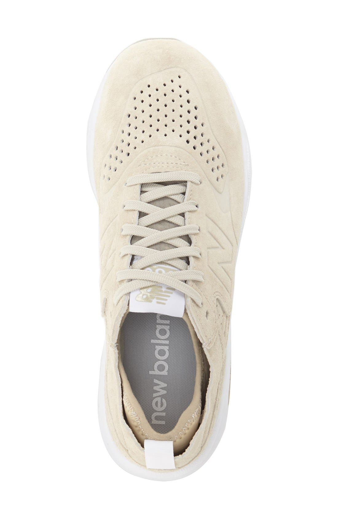 NEW BALANCE,                             '580 Re-Engineered' Sneaker,                             Alternate thumbnail 4, color,                             268