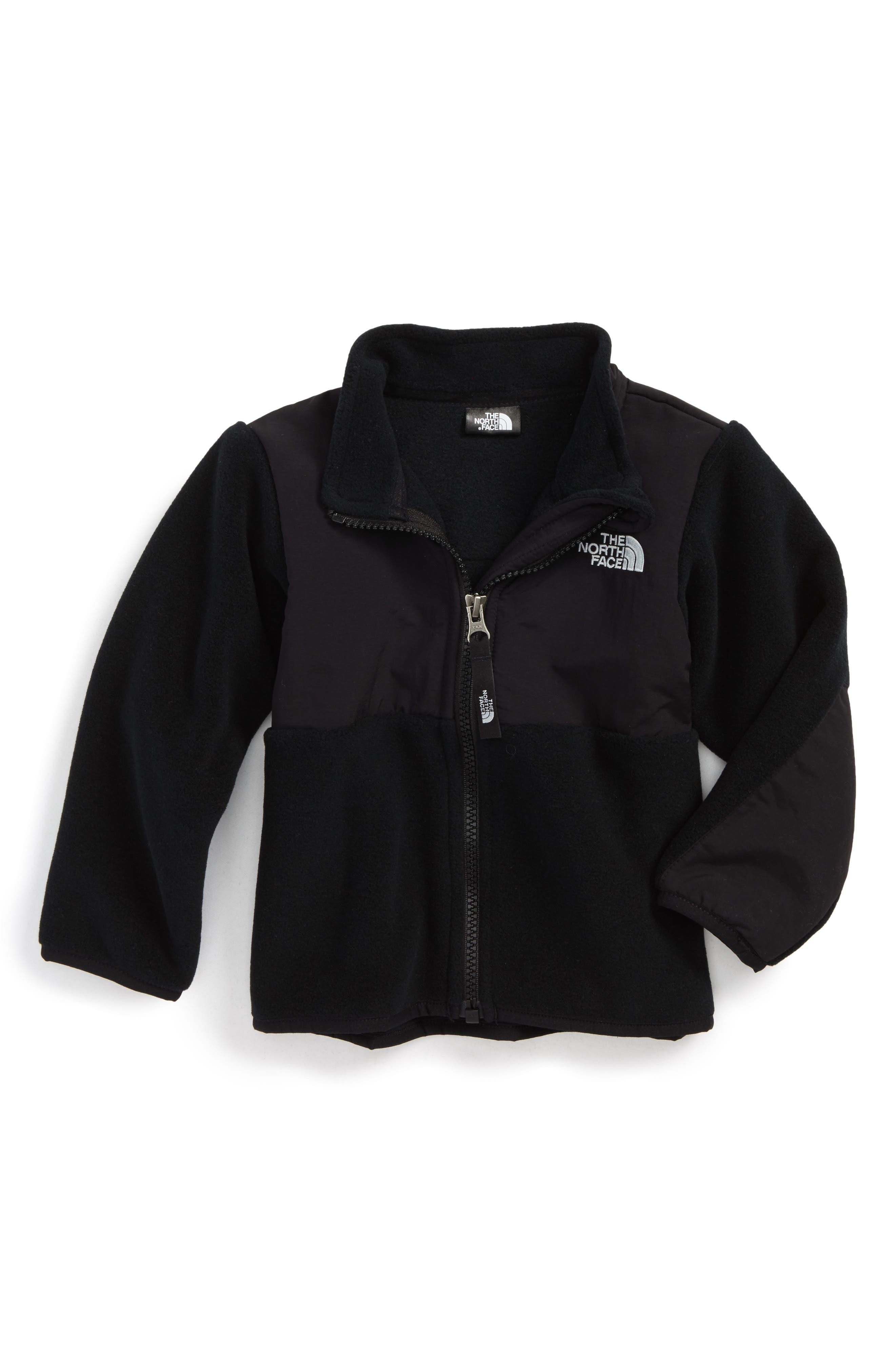 Denali Recycled Fleece Jacket,                             Main thumbnail 1, color,                             TNF BLACK