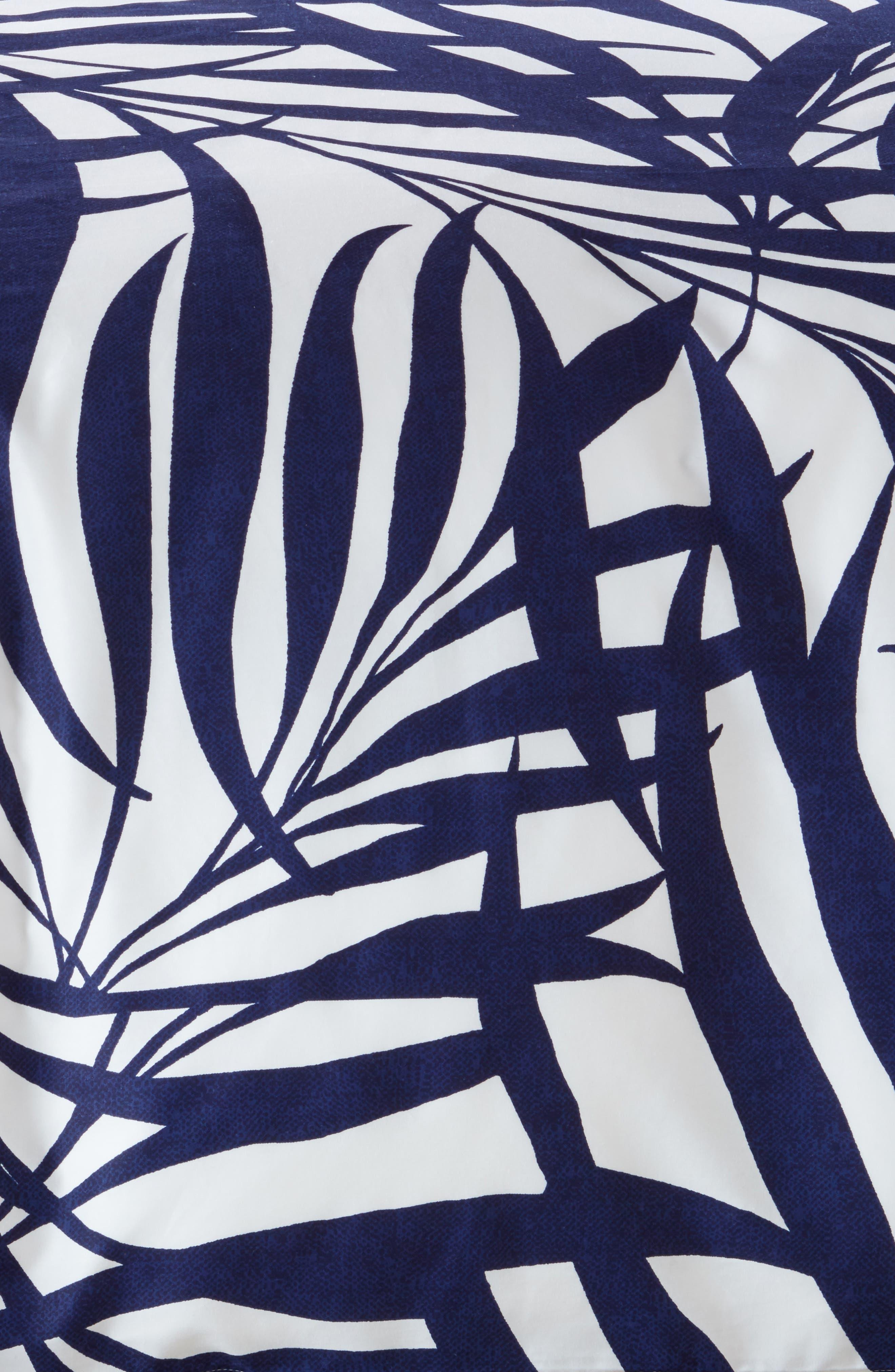 palm comforter & sham set,                             Alternate thumbnail 2, color,                             400