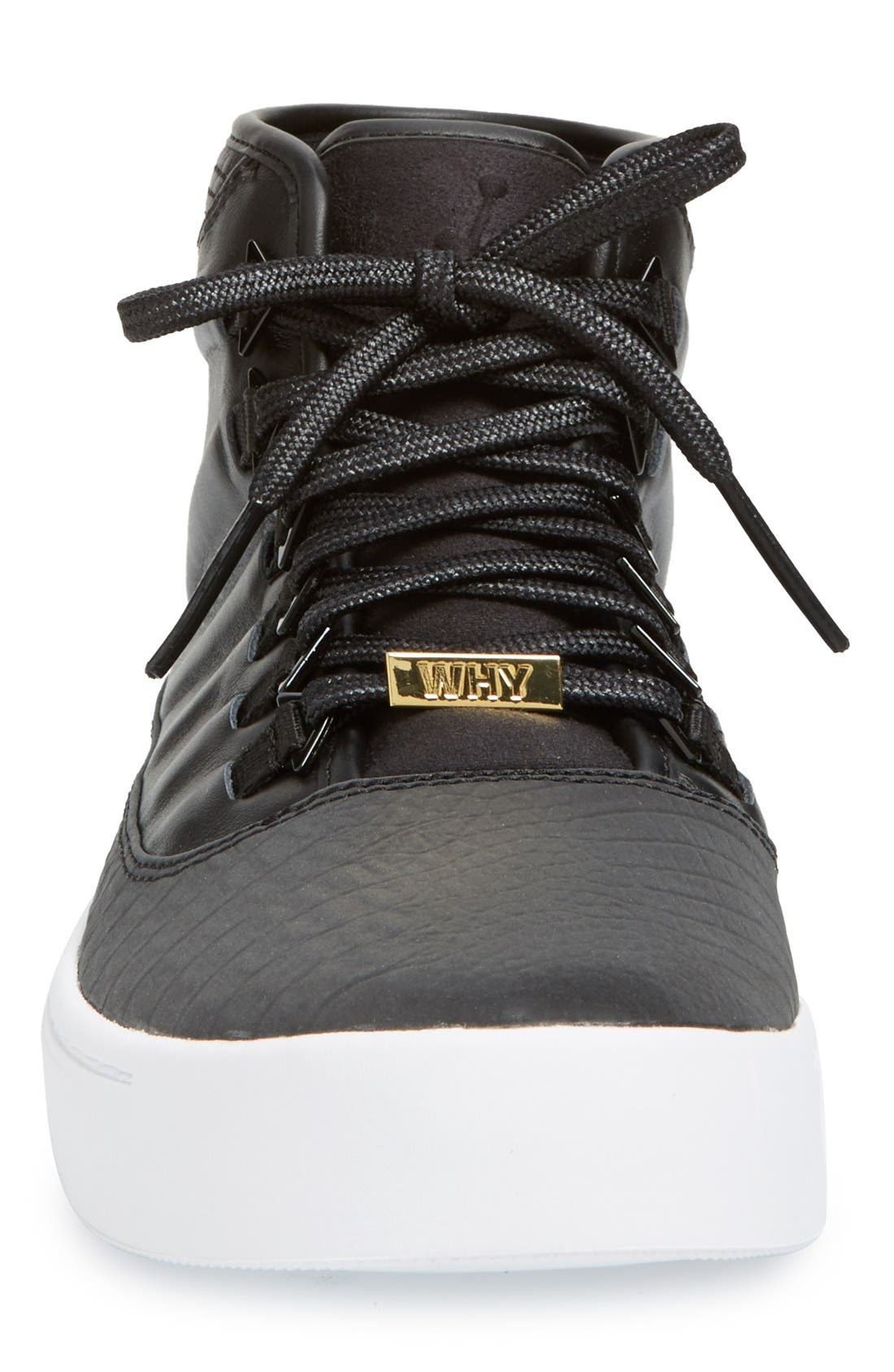 'Jordan - Westbrook 0' High Top Sneaker,                             Alternate thumbnail 3, color,                             001