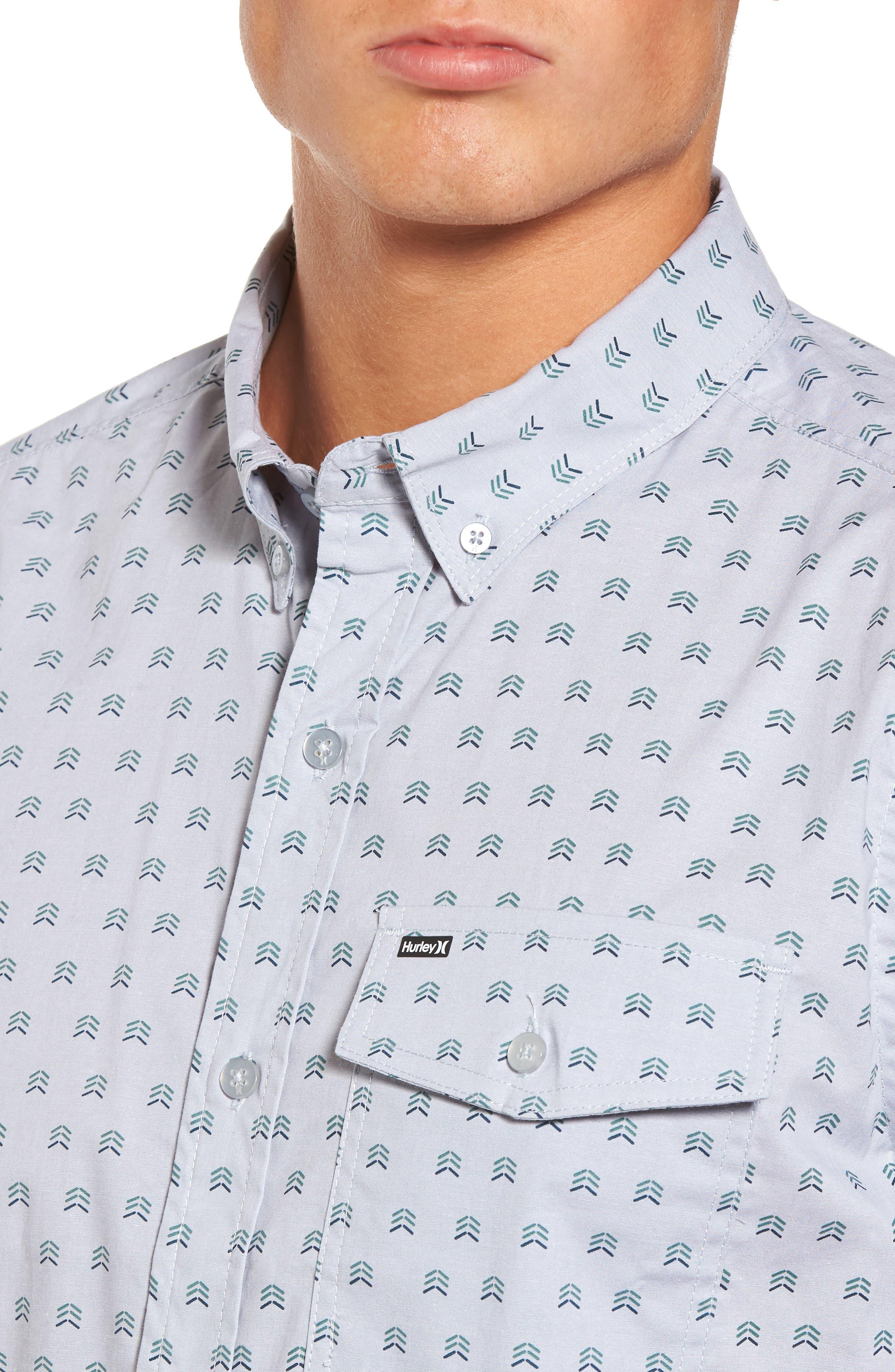 Brooks Woven Shirt,                             Alternate thumbnail 4, color,                             059