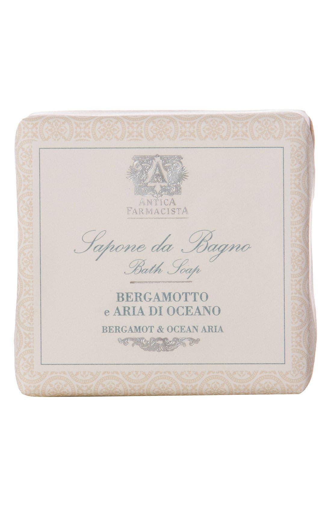 'Bergamot & Ocean Aria' Bar Soap,                             Main thumbnail 1, color,                             000