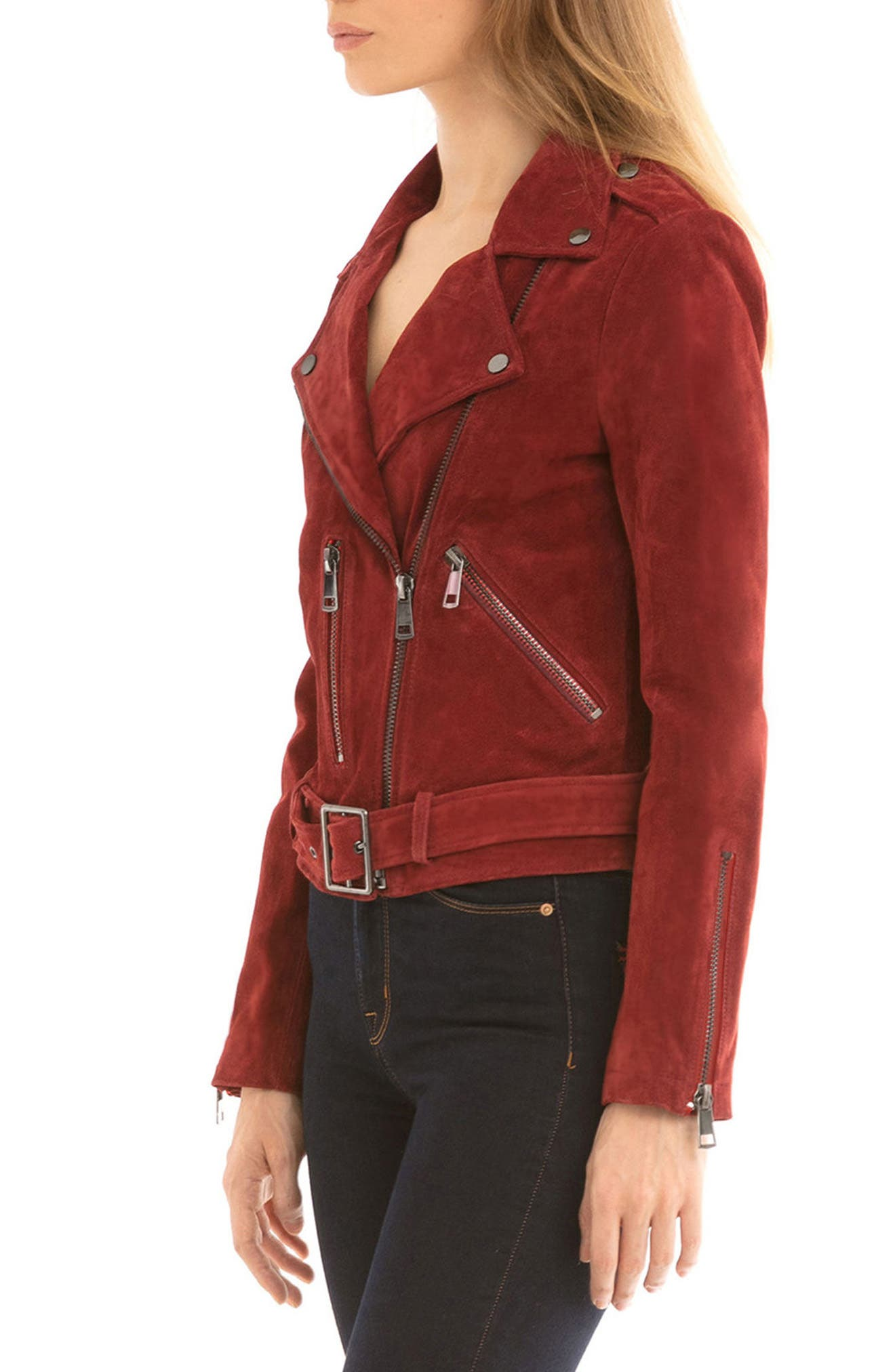 NYC  Suede Jacket,                             Alternate thumbnail 24, color,