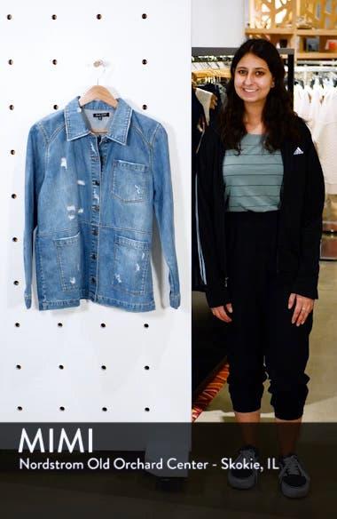 Claudia Oversize Denim Jacket, sales video thumbnail