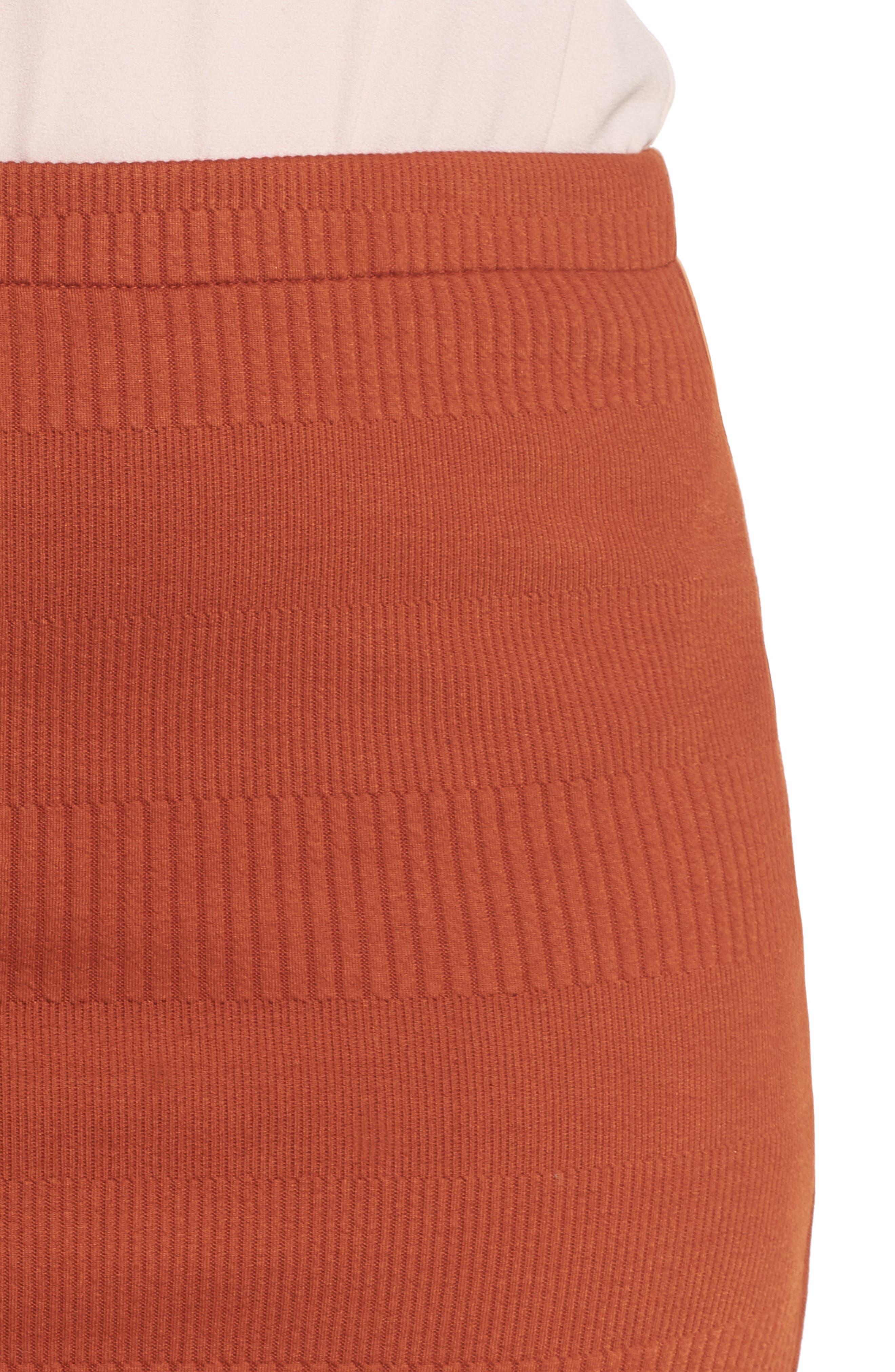 Midi Pencil Skirt,                             Alternate thumbnail 4, color,                             210