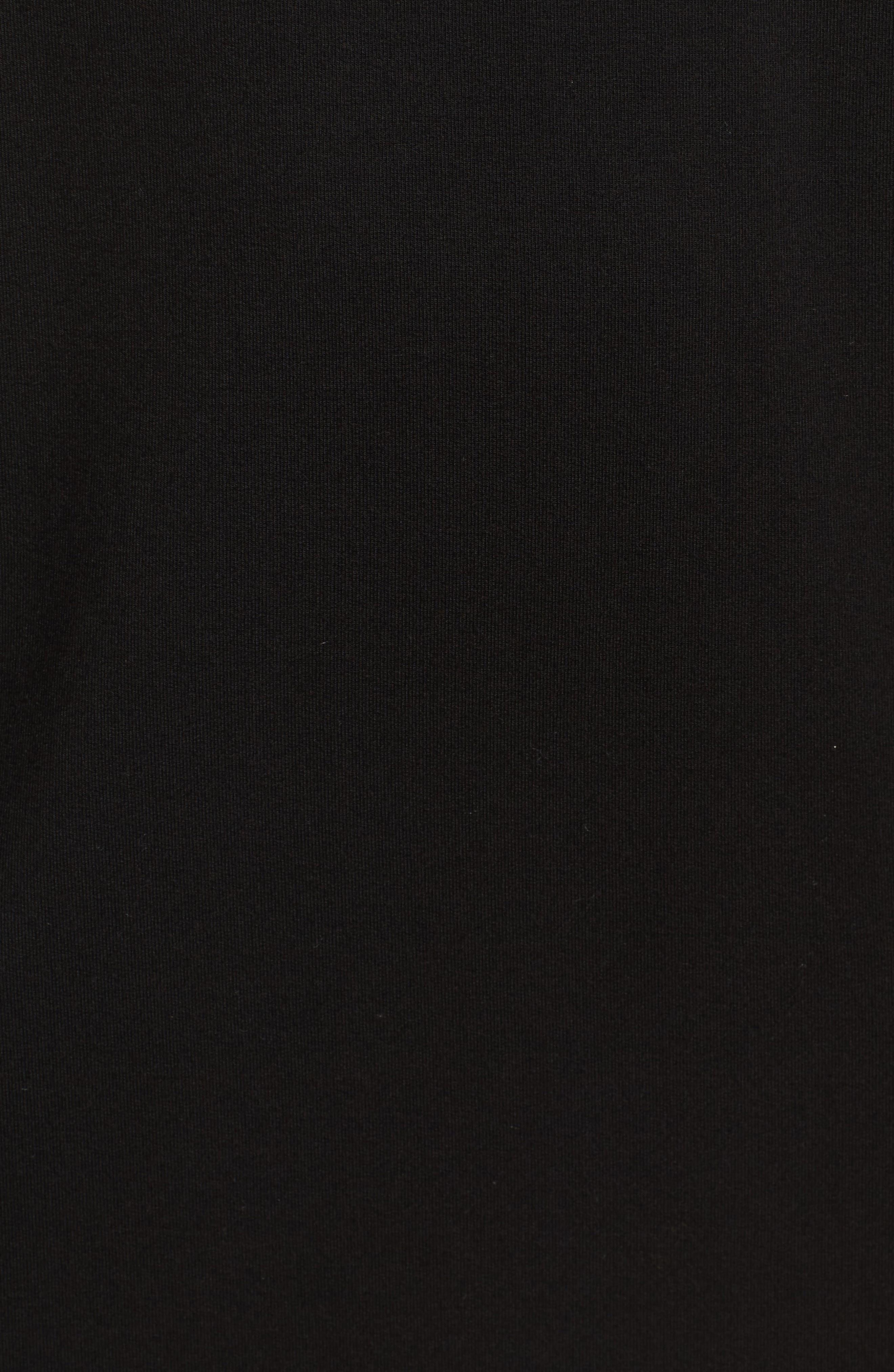 Celerina Lace-Up Minidress,                             Alternate thumbnail 5, color,                             001