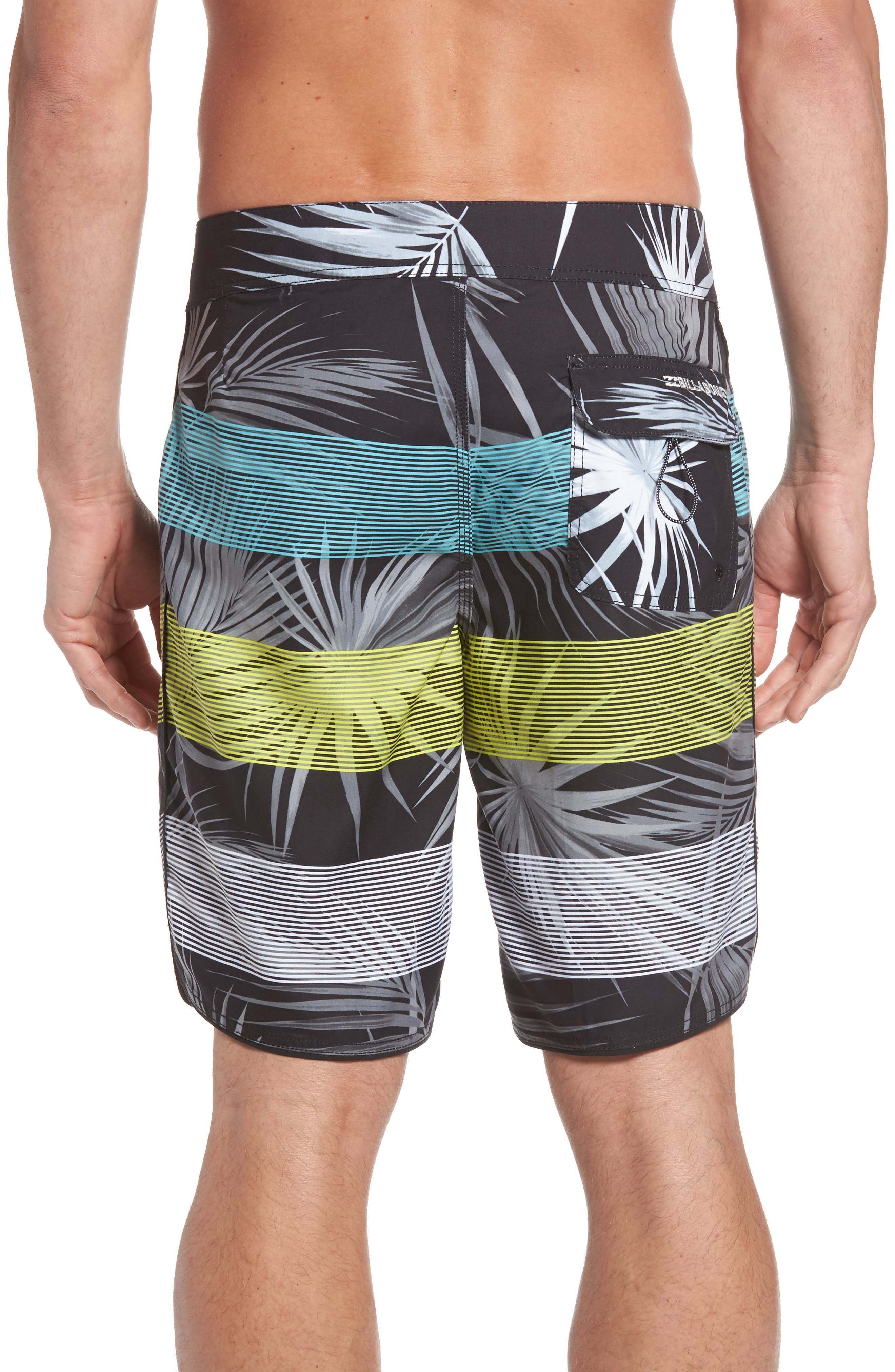73 OG Stripe Board Shorts,                             Alternate thumbnail 2, color,                             001