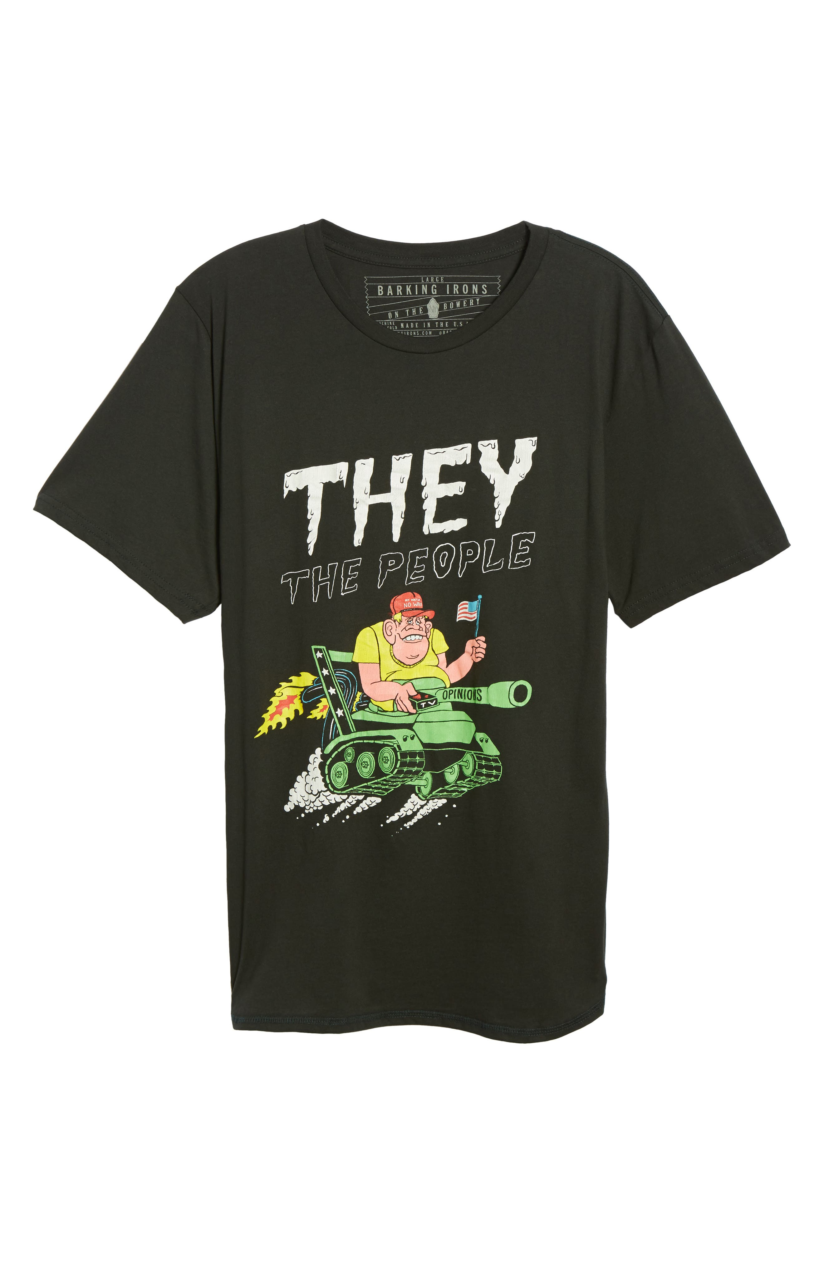 They The People Graphic T-Shirt,                             Alternate thumbnail 6, color,                             001