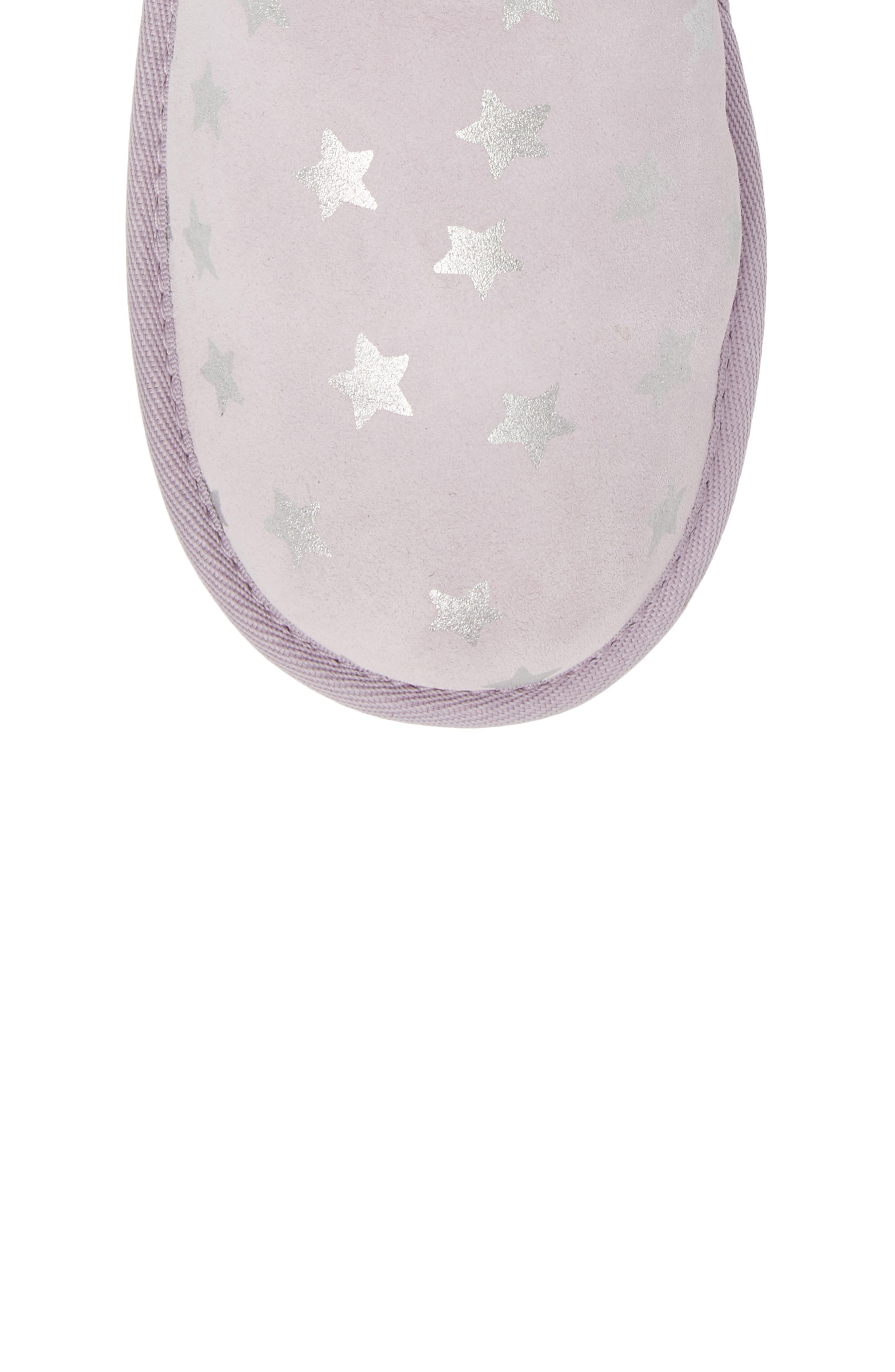 Classic Short II Water Resistant Stars Boot,                             Alternate thumbnail 5, color,                             LILAC