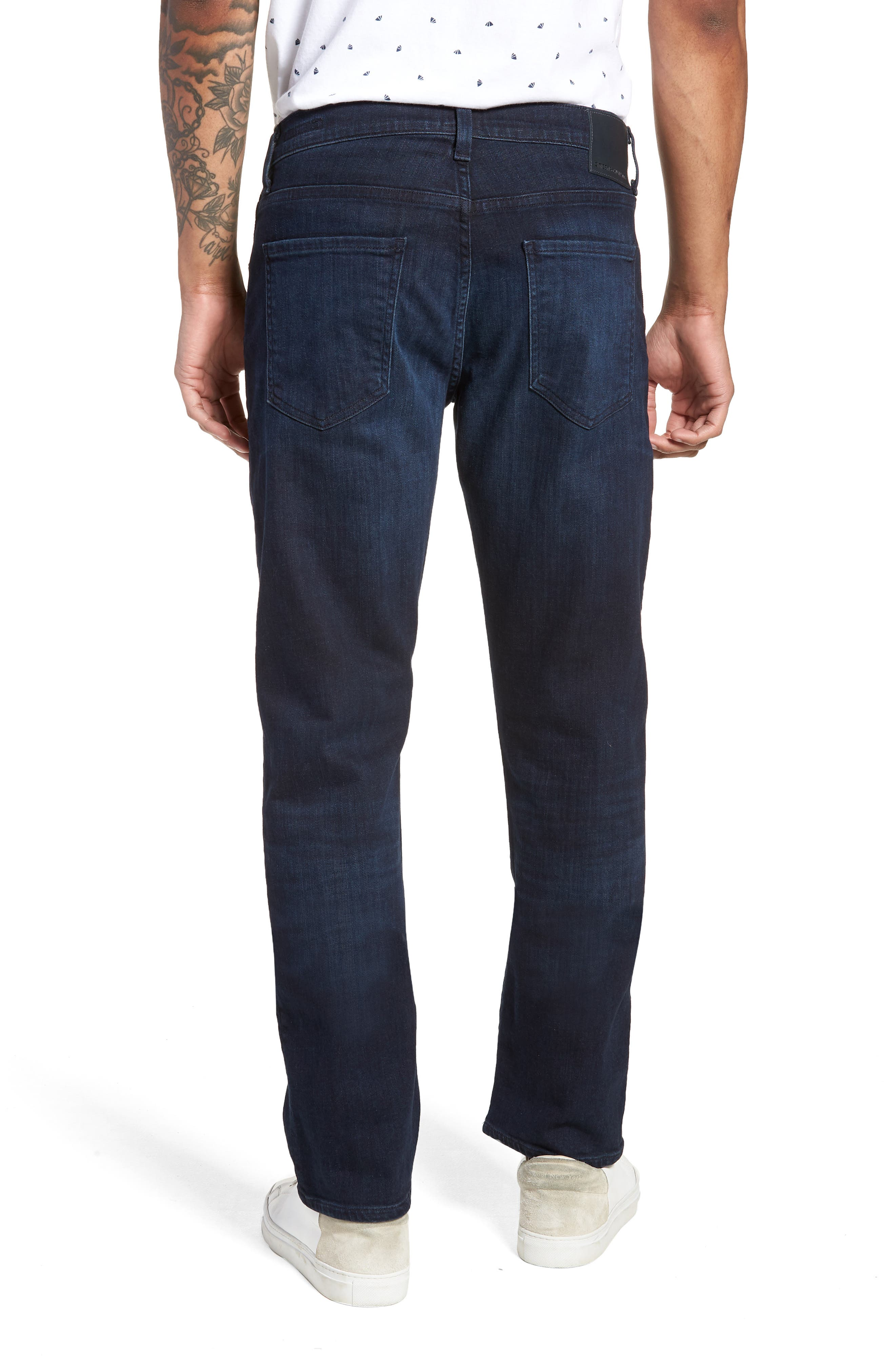 Gage Slim Straight Leg Jeans,                             Alternate thumbnail 2, color,                             GEARY