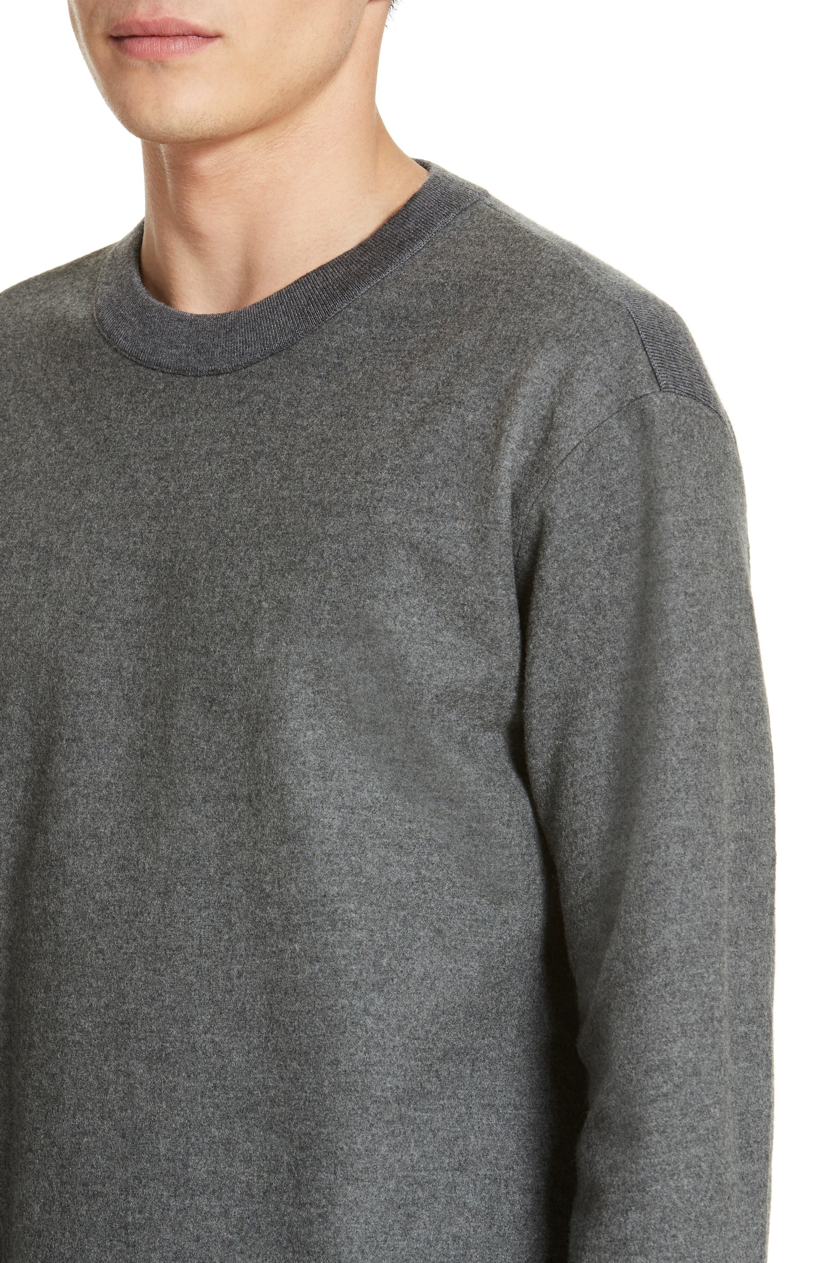 Hyper Compress Sweatshirt,                             Alternate thumbnail 4, color,