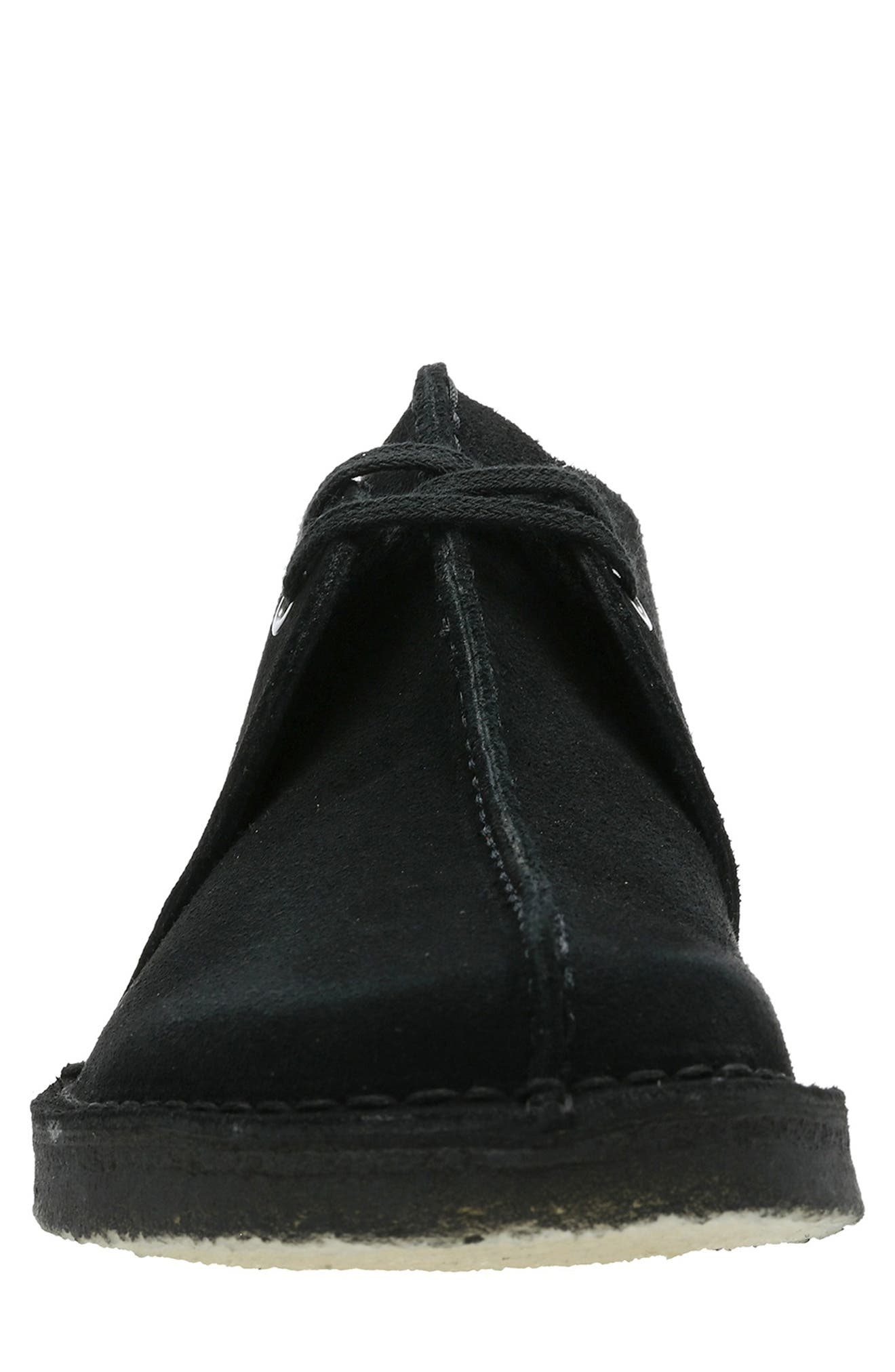 Originals 'Desert - Trek' Oxford,                             Alternate thumbnail 3, color,                             BLACK/BLACK SUEDE