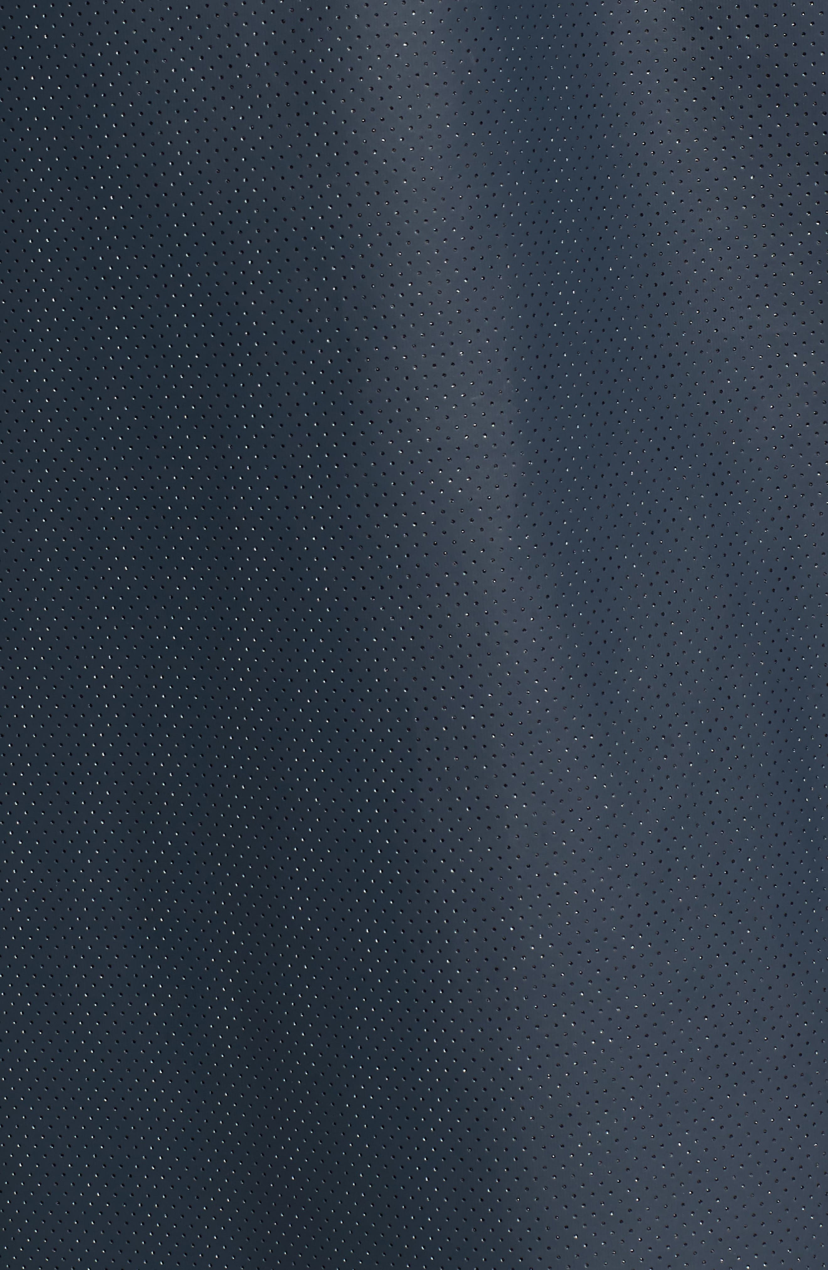 Refined Perforated A-Line Coat,                             Alternate thumbnail 6, color,                             410