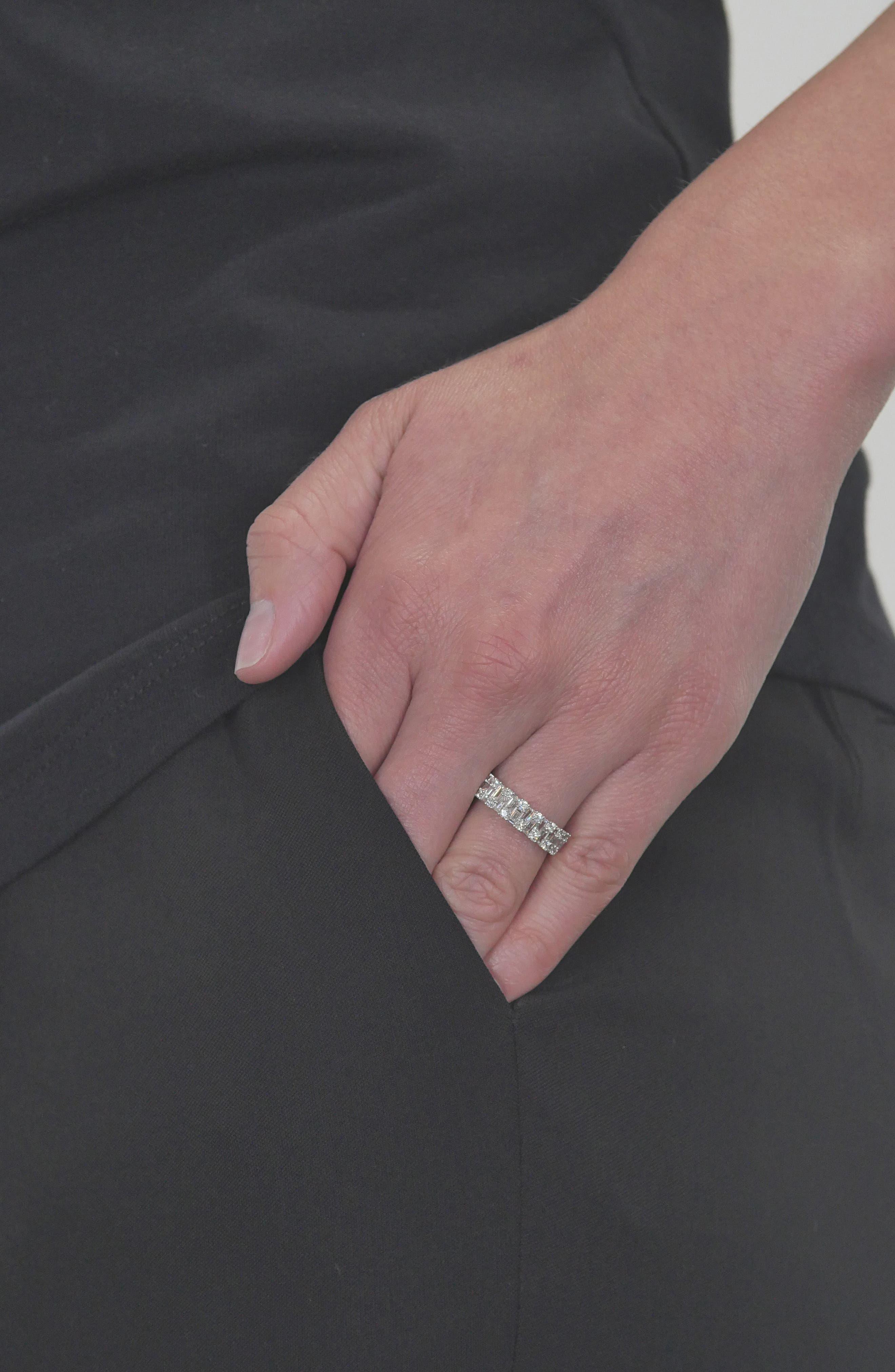 BONY LEVY,                             Multi Diamond Ring,                             Alternate thumbnail 2, color,                             WHITE GOLD