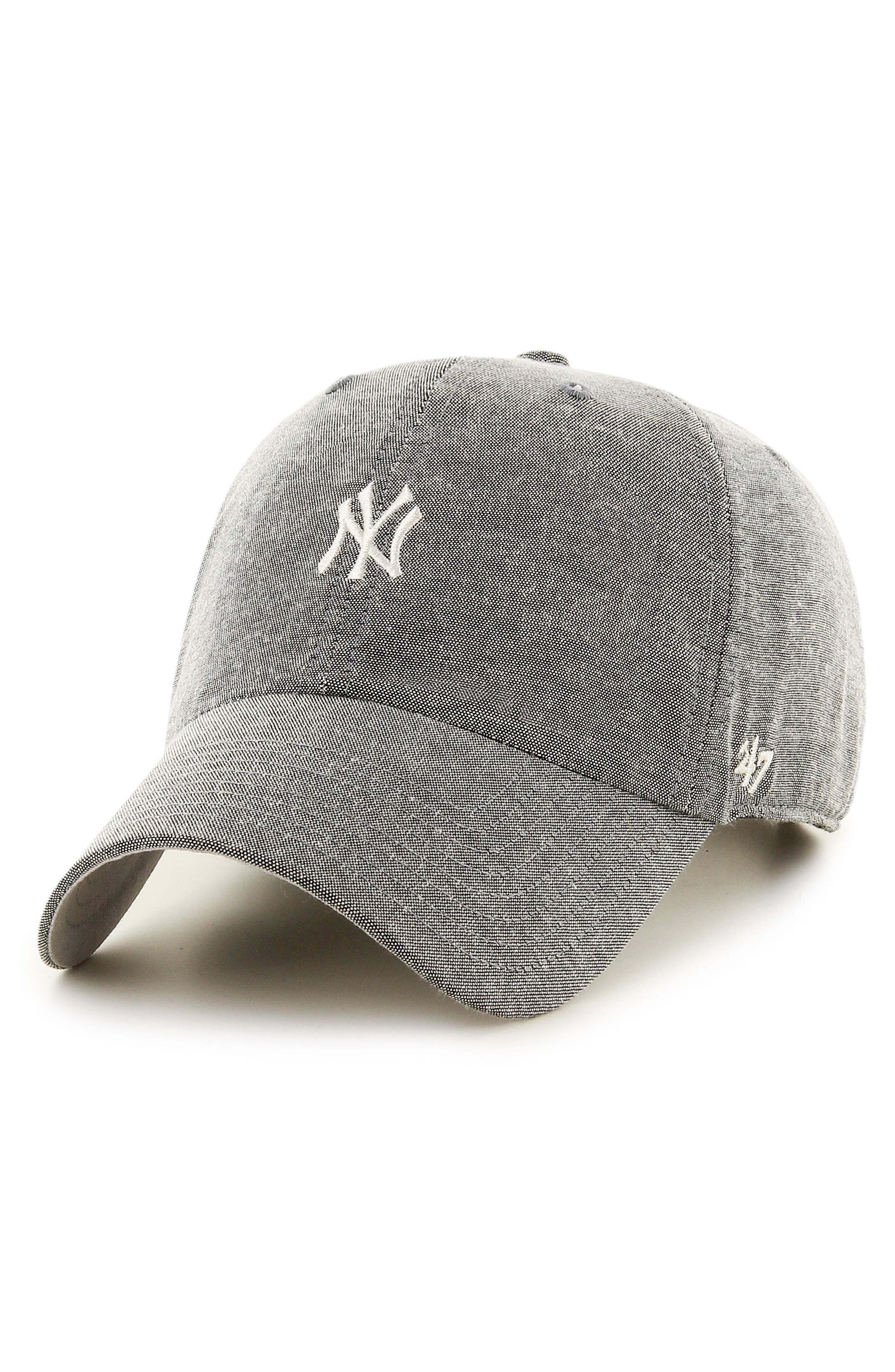 Monument Salute Clean Up NY Yankees Baseball Cap,                             Main thumbnail 1, color,
