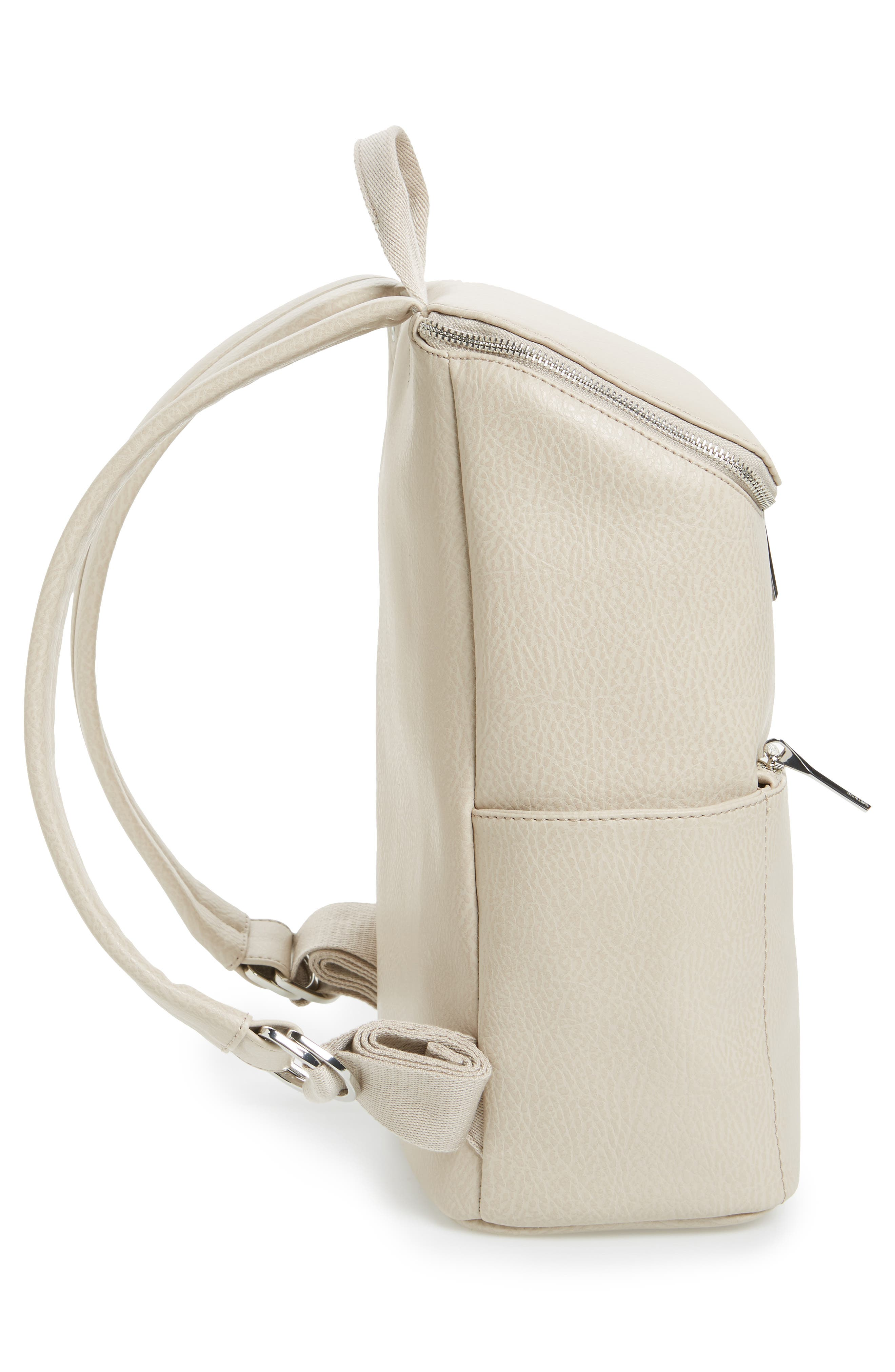 'Brave' Faux Leather Backpack,                             Alternate thumbnail 68, color,