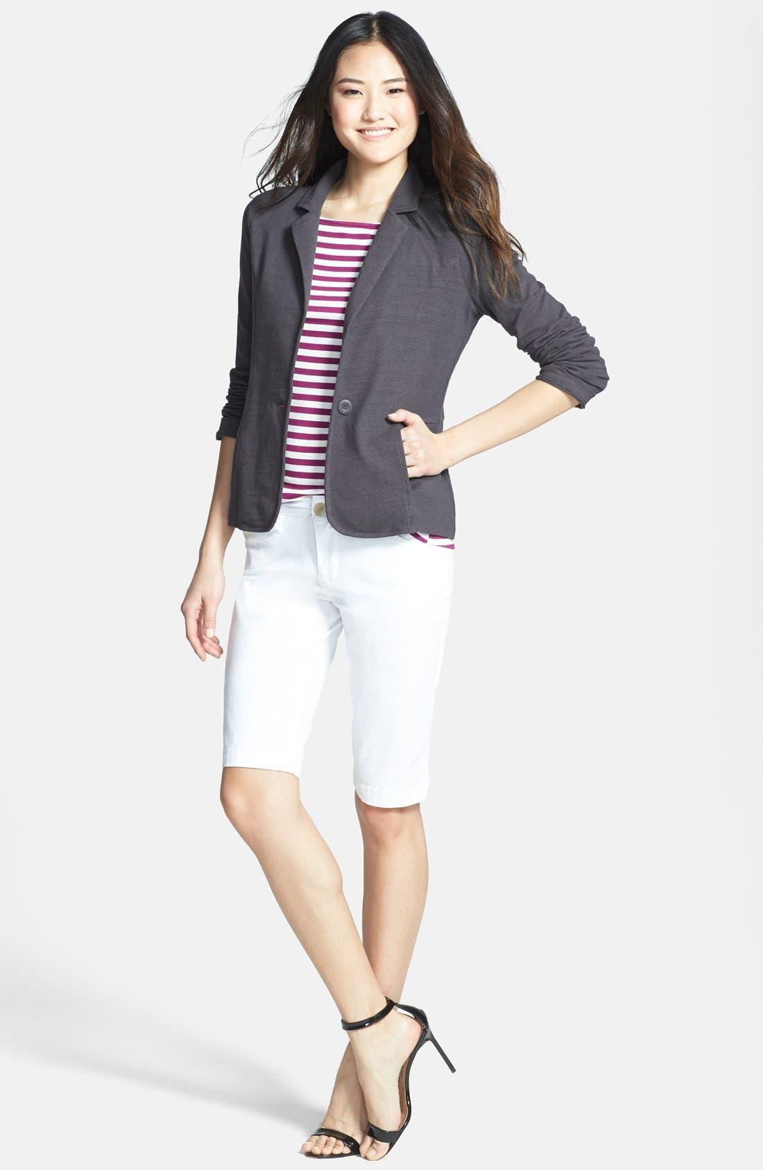 Cotton Knit Jacket,                             Alternate thumbnail 32, color,