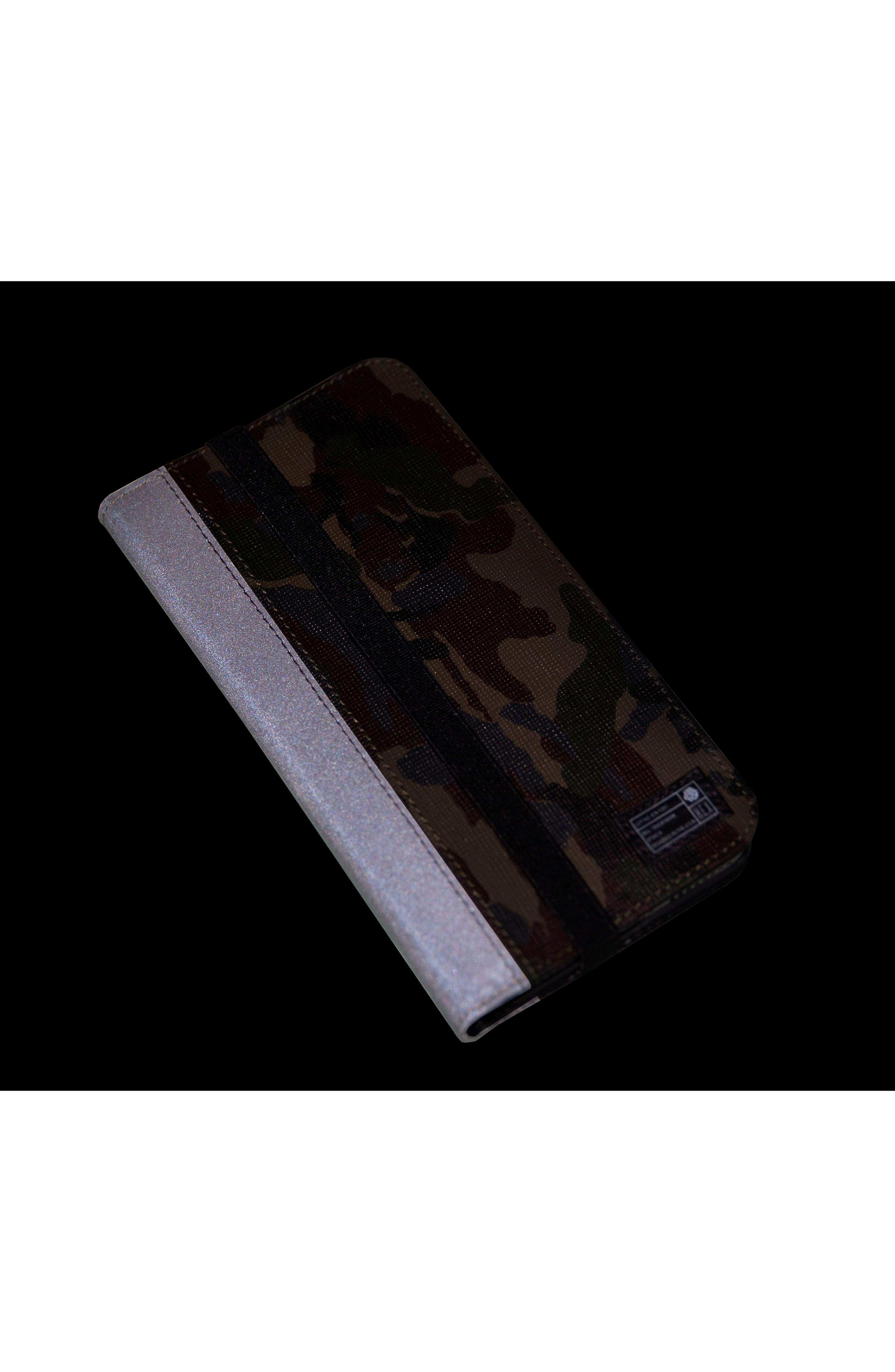 Icon iPhone 6/6s/7/8 Plus Wallet Case,                             Alternate thumbnail 5, color,                             345