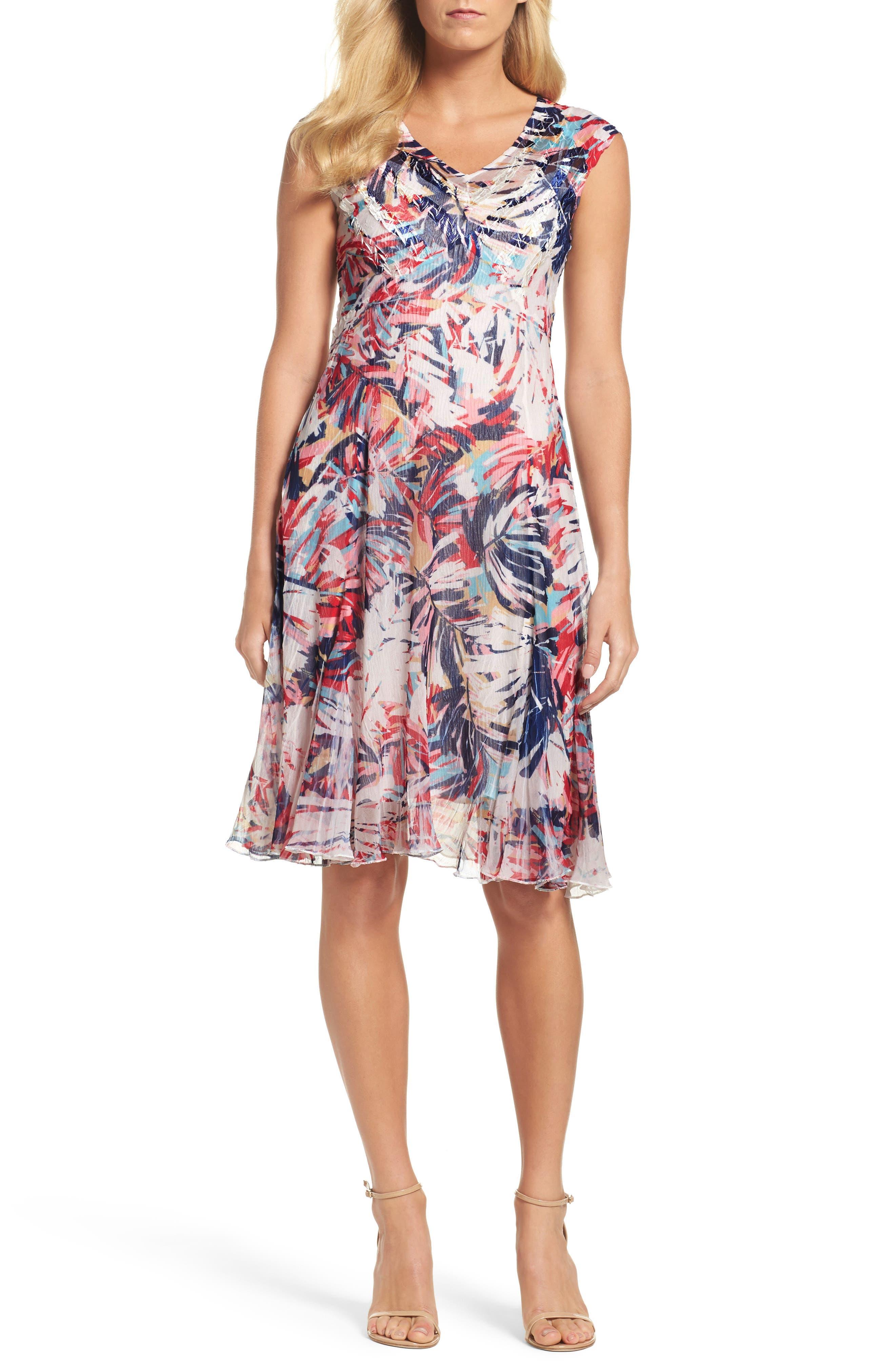 A-Line Dress,                             Main thumbnail 1, color,                             408