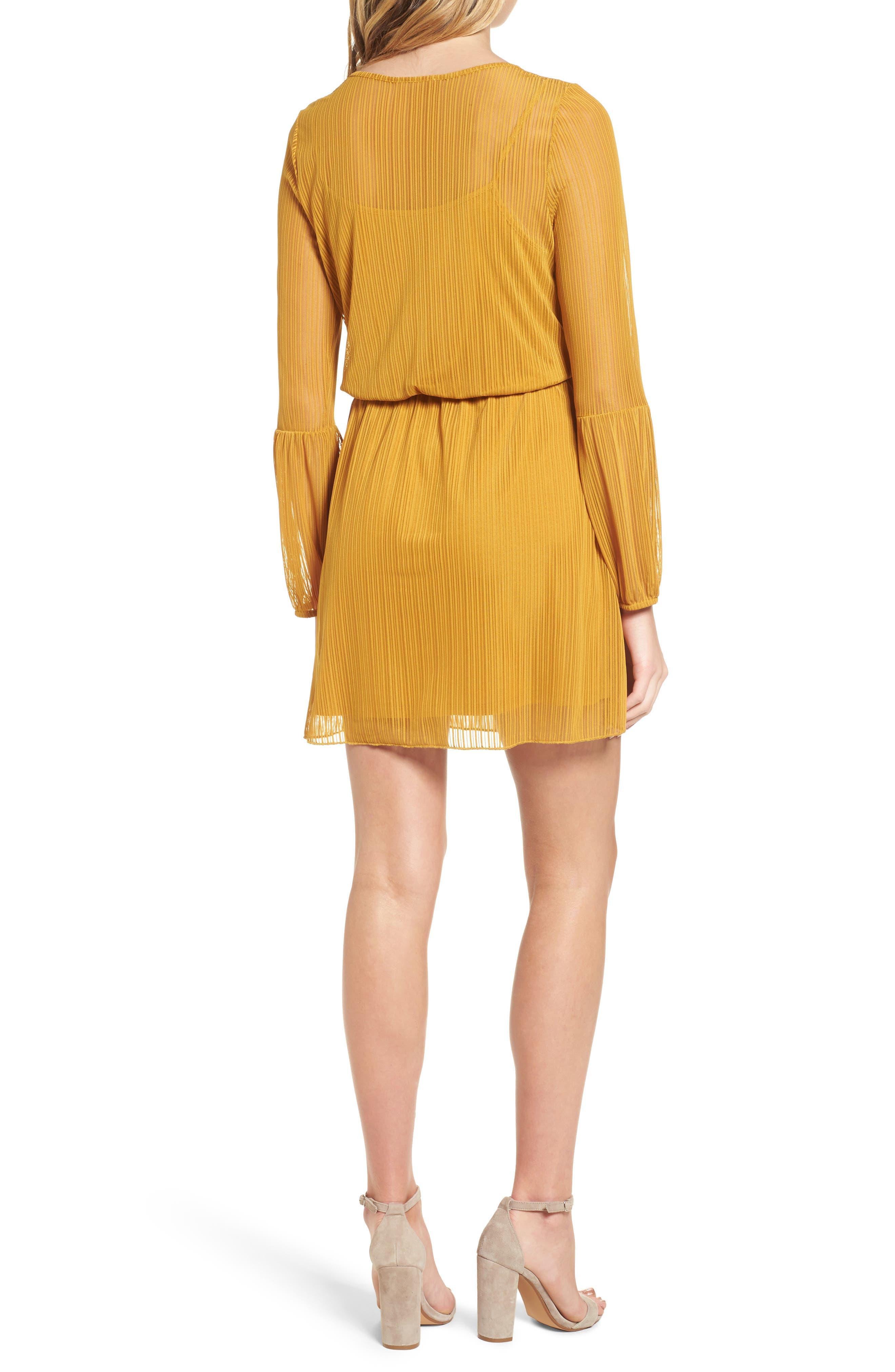 Blouson Dress,                             Alternate thumbnail 2, color,