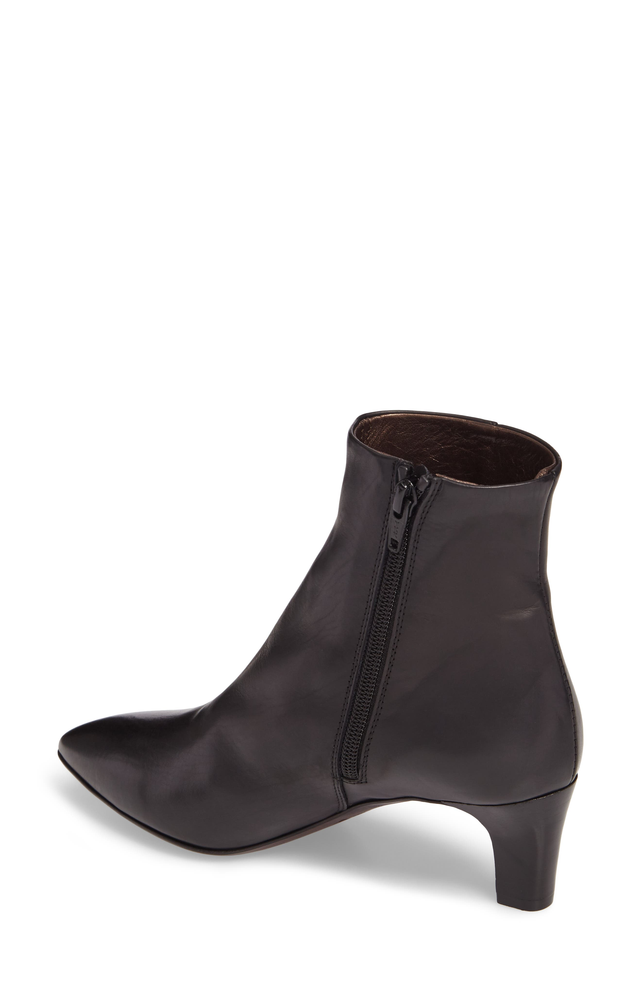 AG Pointed Toe Bootie,                             Alternate thumbnail 2, color,                             001