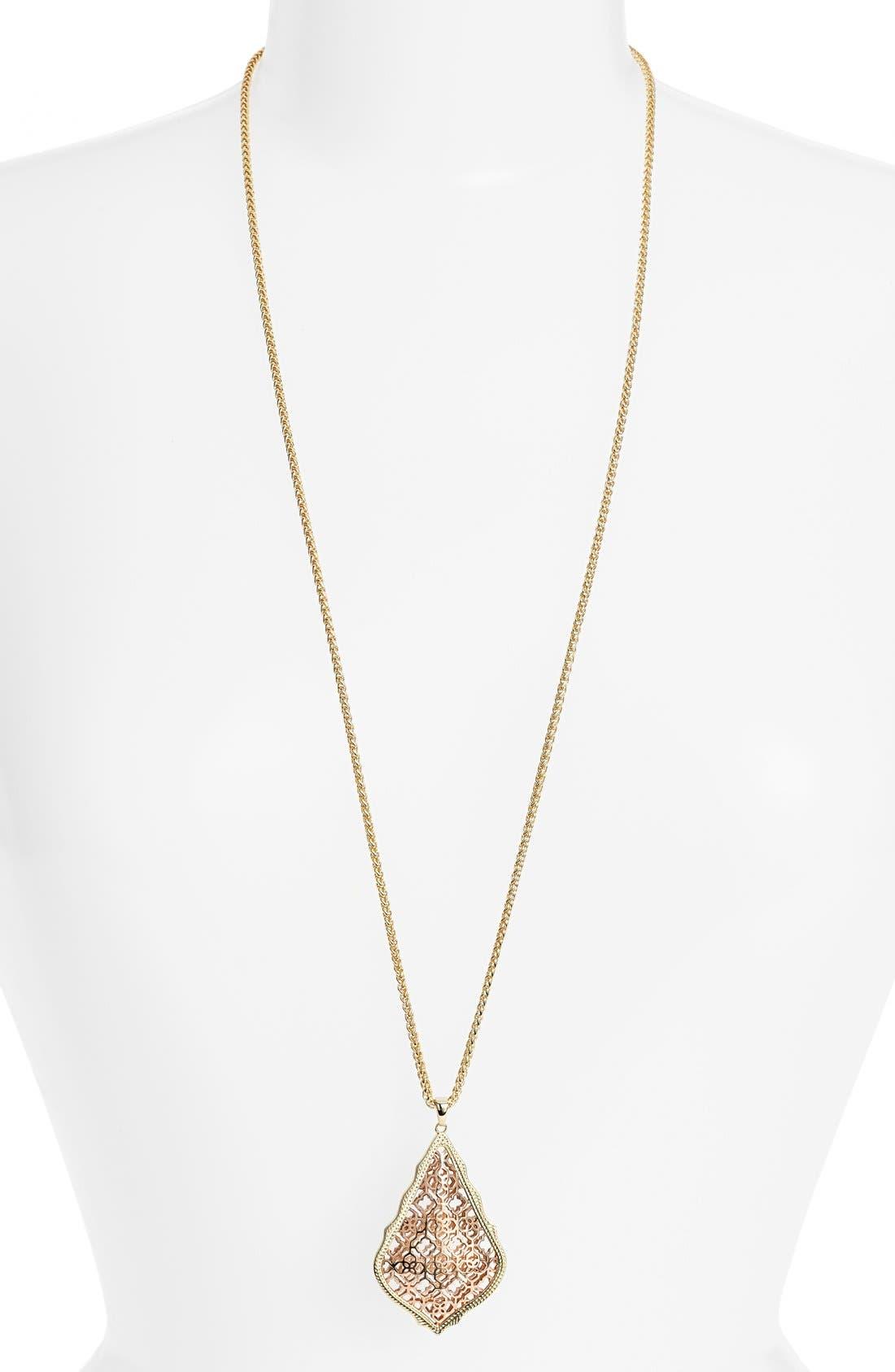 'Aiden' Pendant Necklace,                             Main thumbnail 4, color,