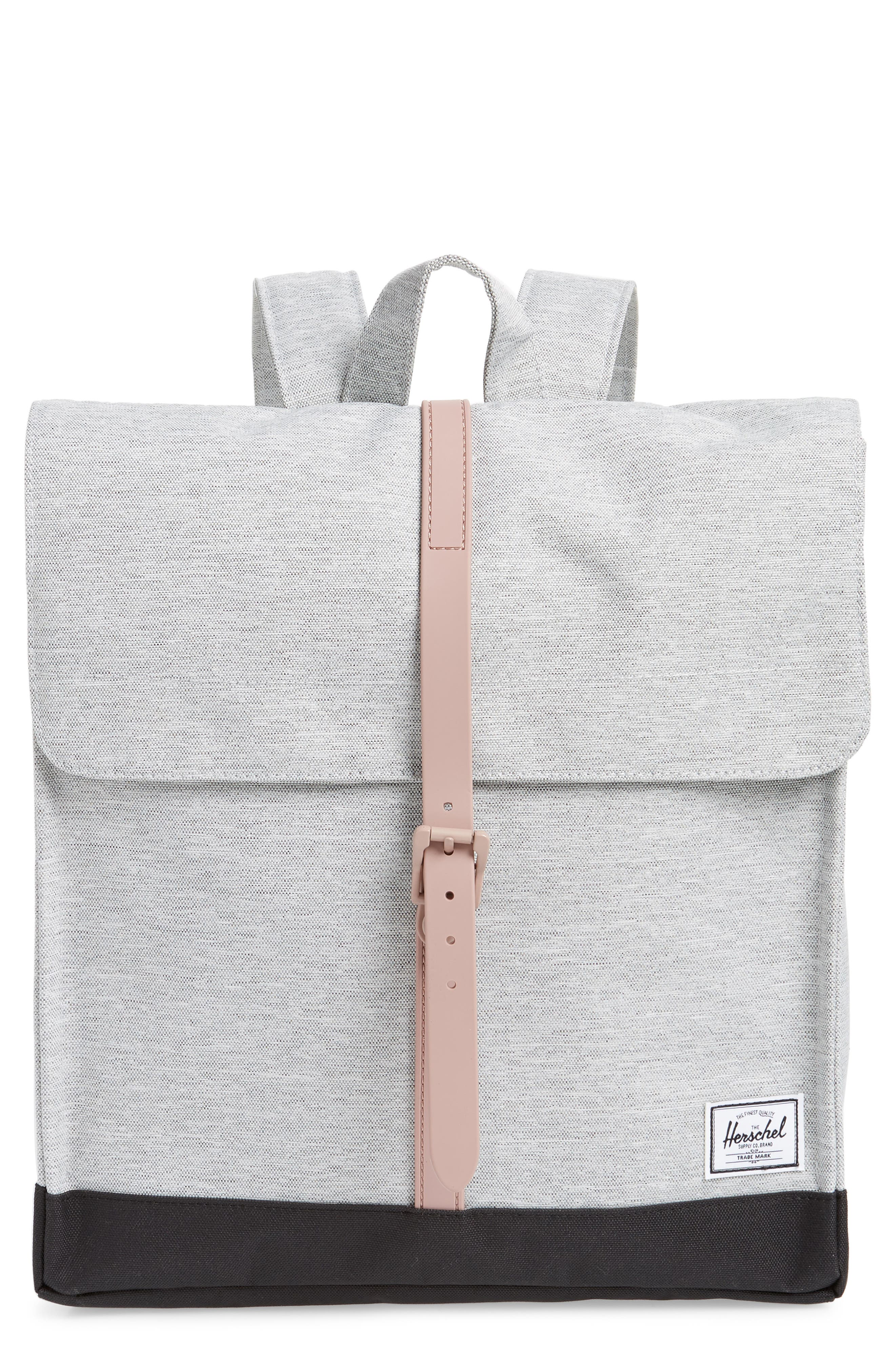 'City - Mid Volume' Backpack,                             Main thumbnail 1, color,                             LIGHT GREY/ ASH ROSE/ BLACK