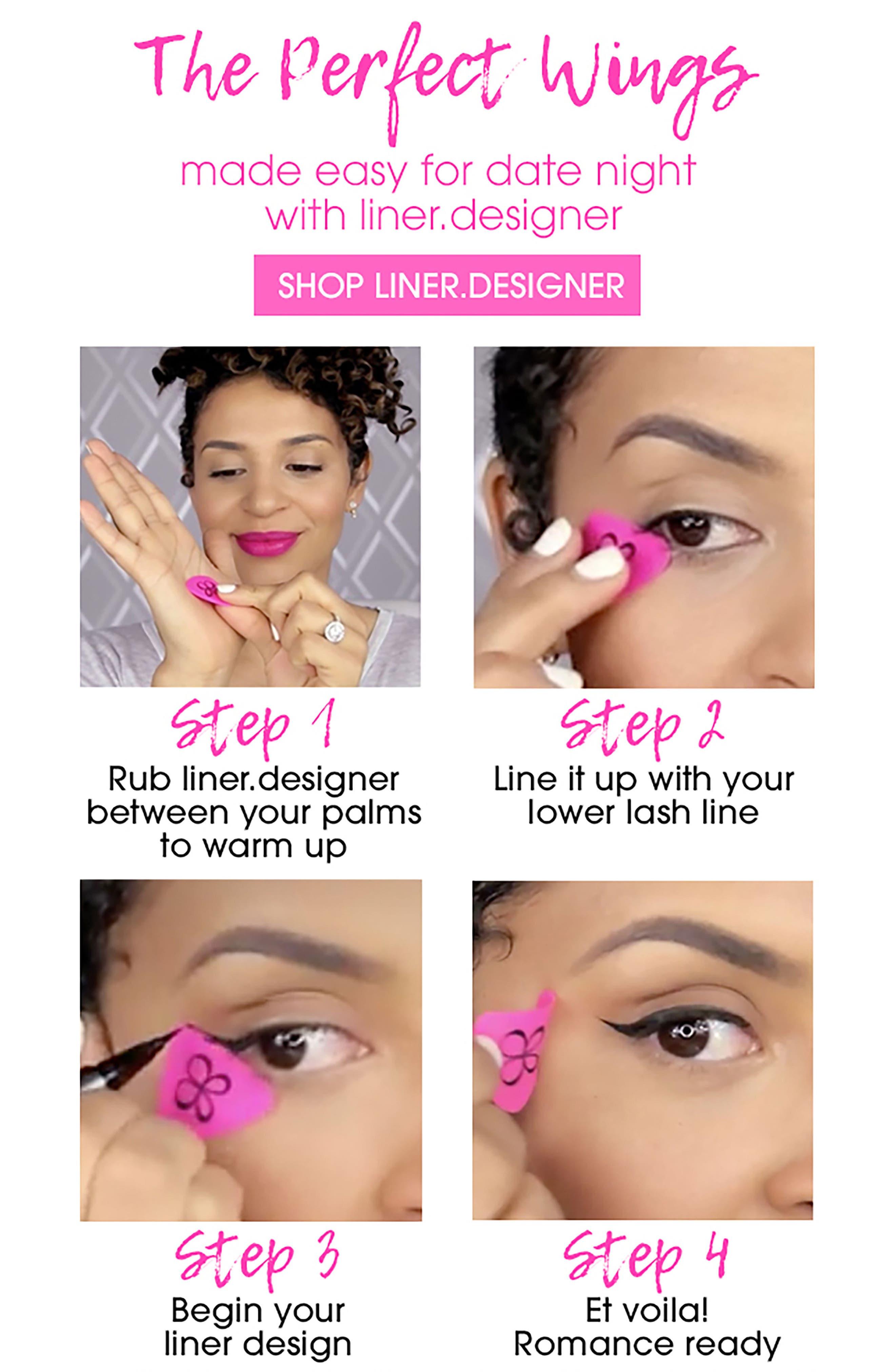 'liner.designer' Eyeliner Application Tool & Compact,                             Alternate thumbnail 9, color,                             NO COLOR