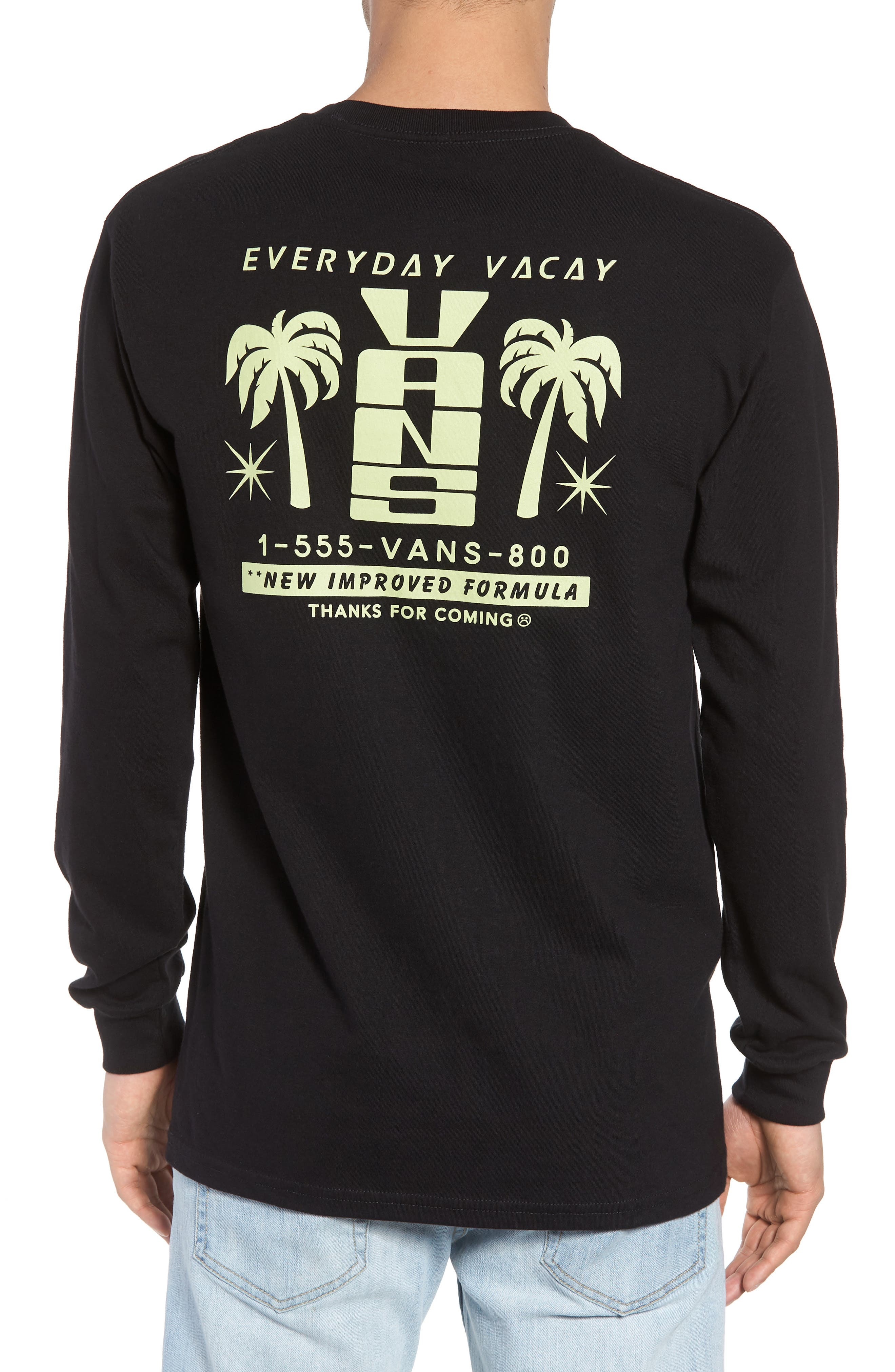 Everyday Vacay Graphic T-Shirt,                             Alternate thumbnail 2, color,                             001