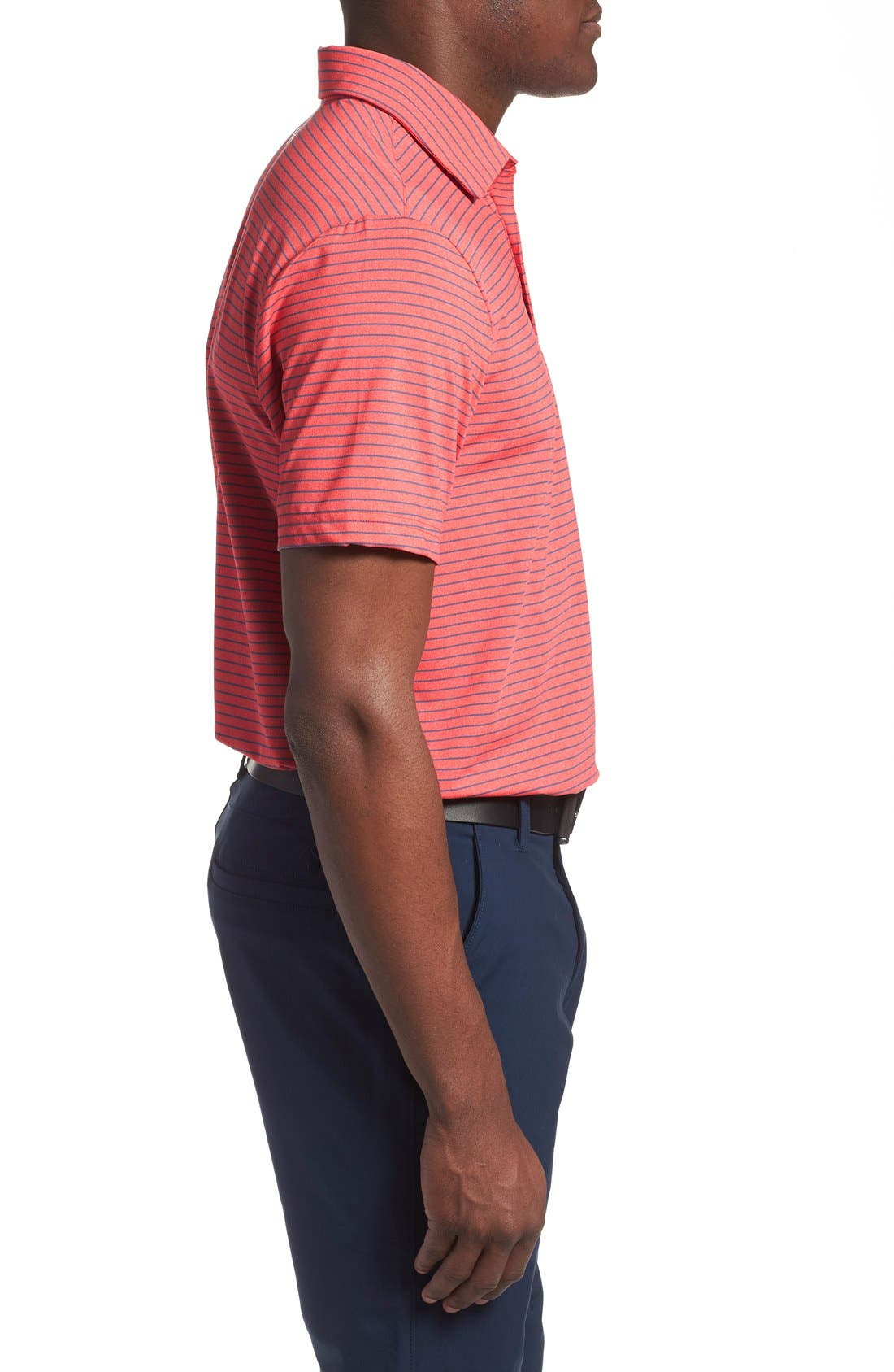'Playoff' Loose Fit Short Sleeve Polo,                             Alternate thumbnail 166, color,