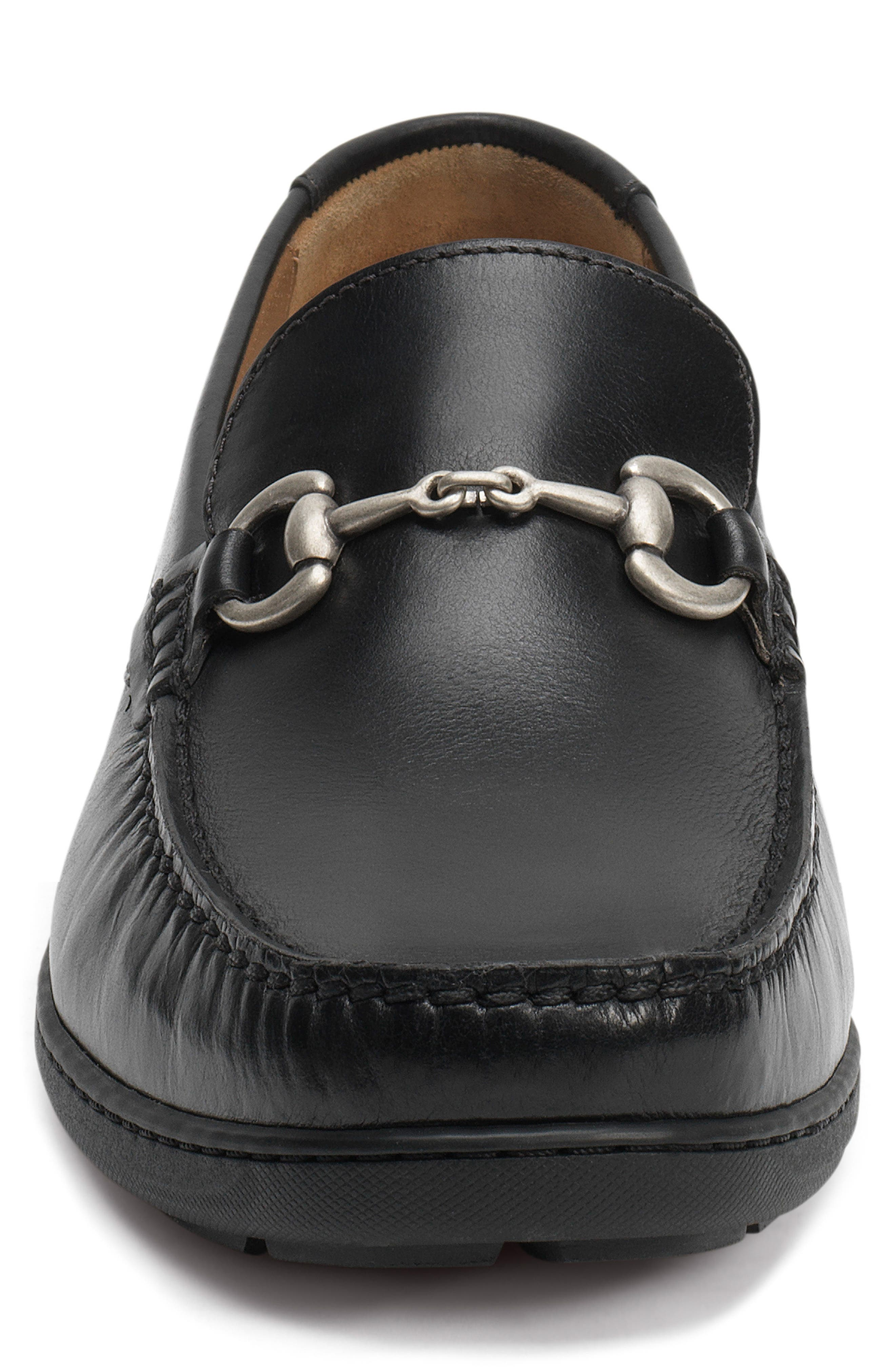 Stalworth Bit Loafer,                             Alternate thumbnail 4, color,                             001