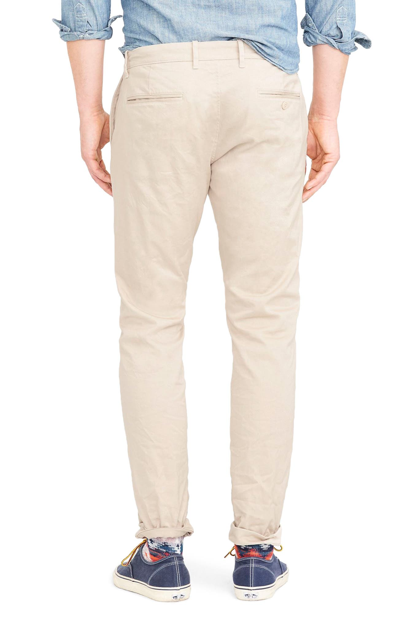 484 Slim Fit Stretch Chino Pants,                             Alternate thumbnail 15, color,