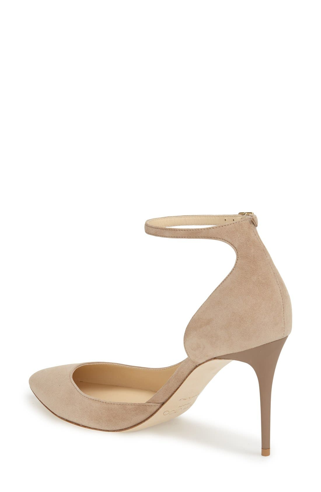'Lucy' Half d'Orsay Pointy Toe Pump,                             Alternate thumbnail 16, color,