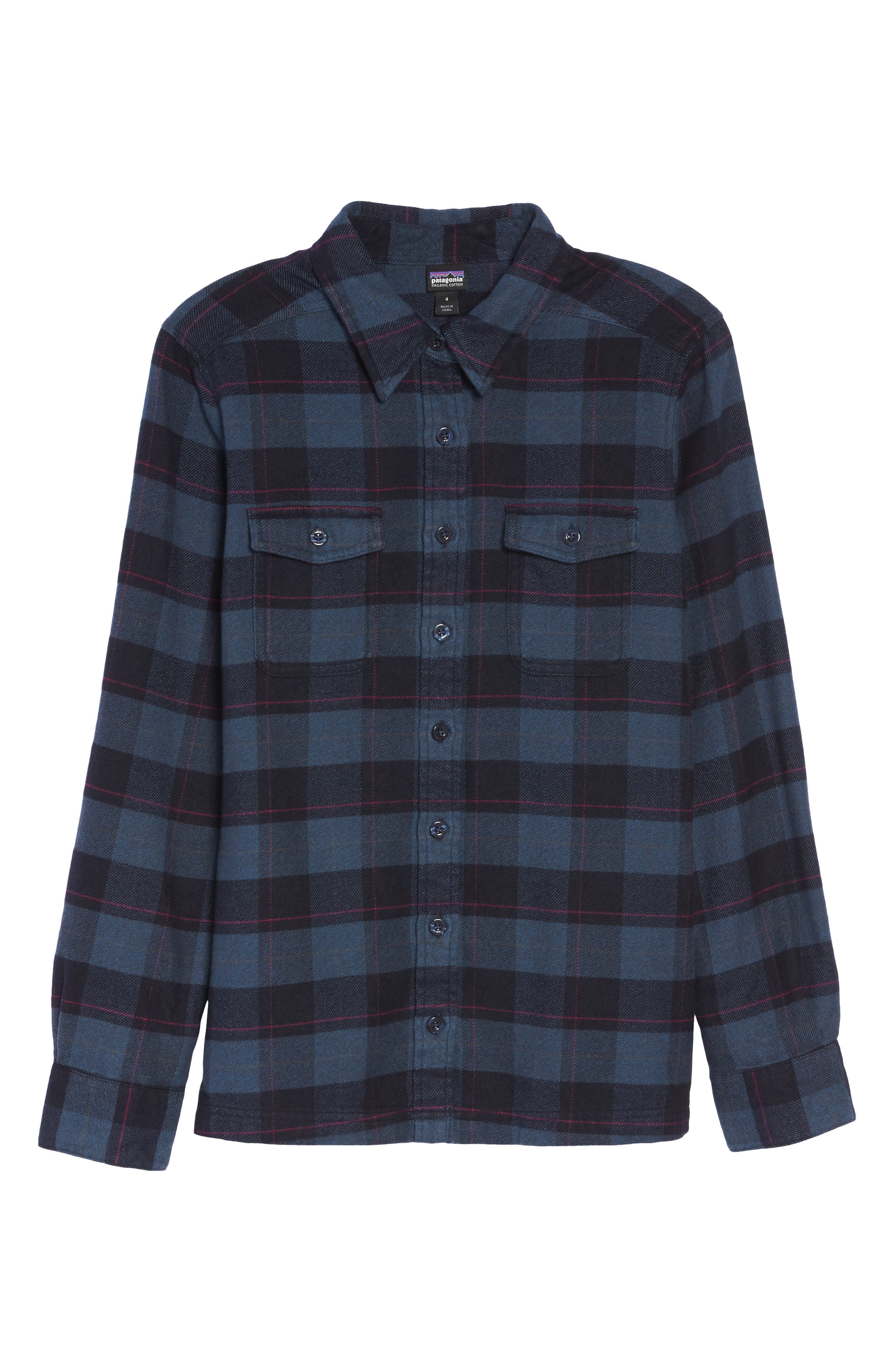 'Fjord' Flannel Shirt,                             Alternate thumbnail 101, color,