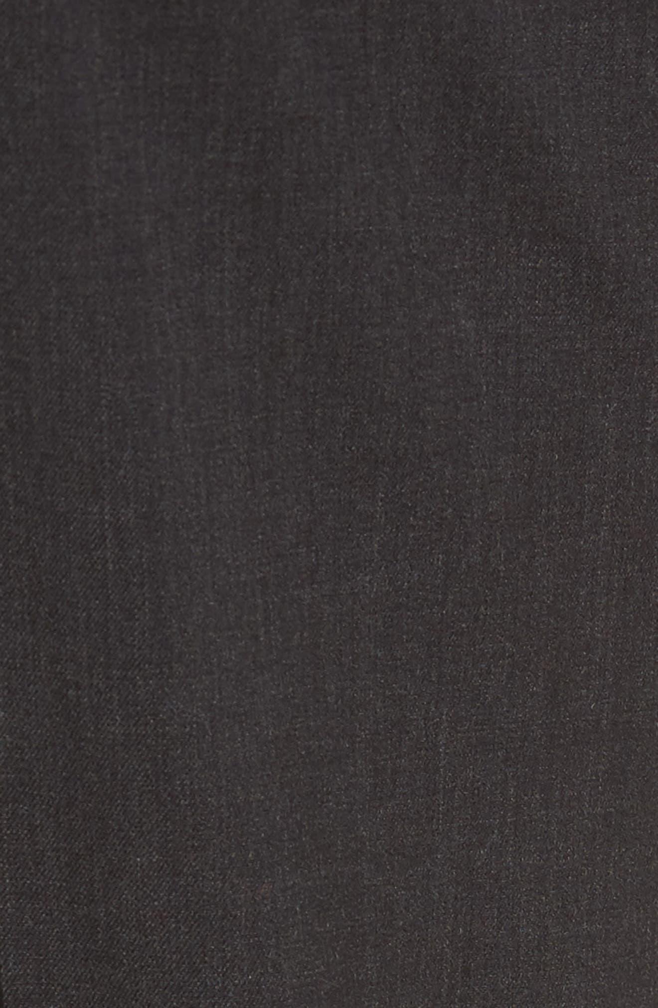 Five-Pocket Stretch Wool Pants,                             Alternate thumbnail 5, color,                             015
