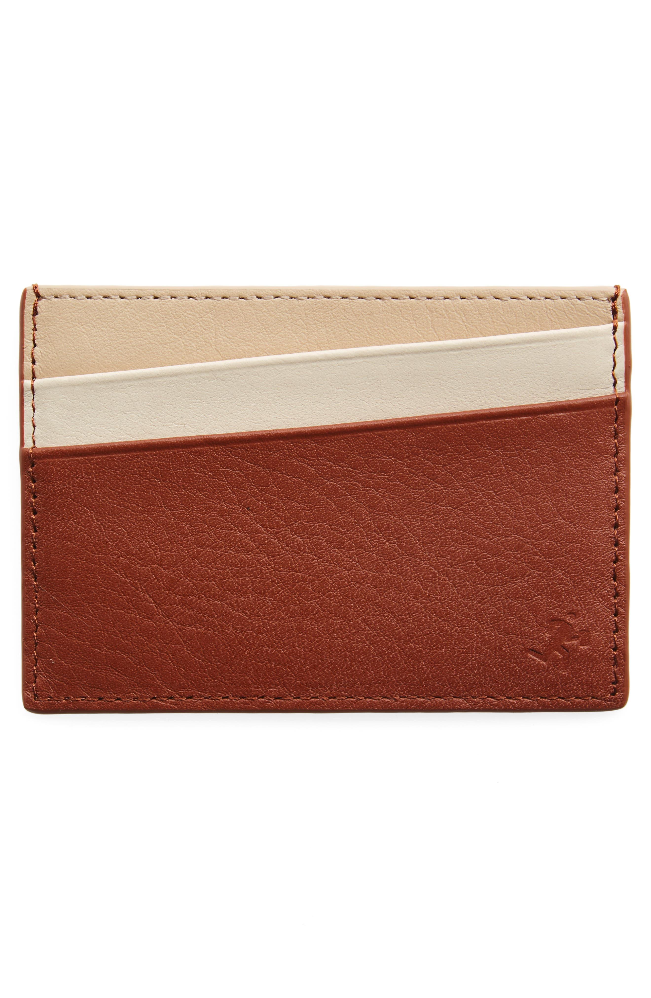 WANT LES ESSENTIELS,                             Branson Leather Card,                             Alternate thumbnail 2, color,                             212