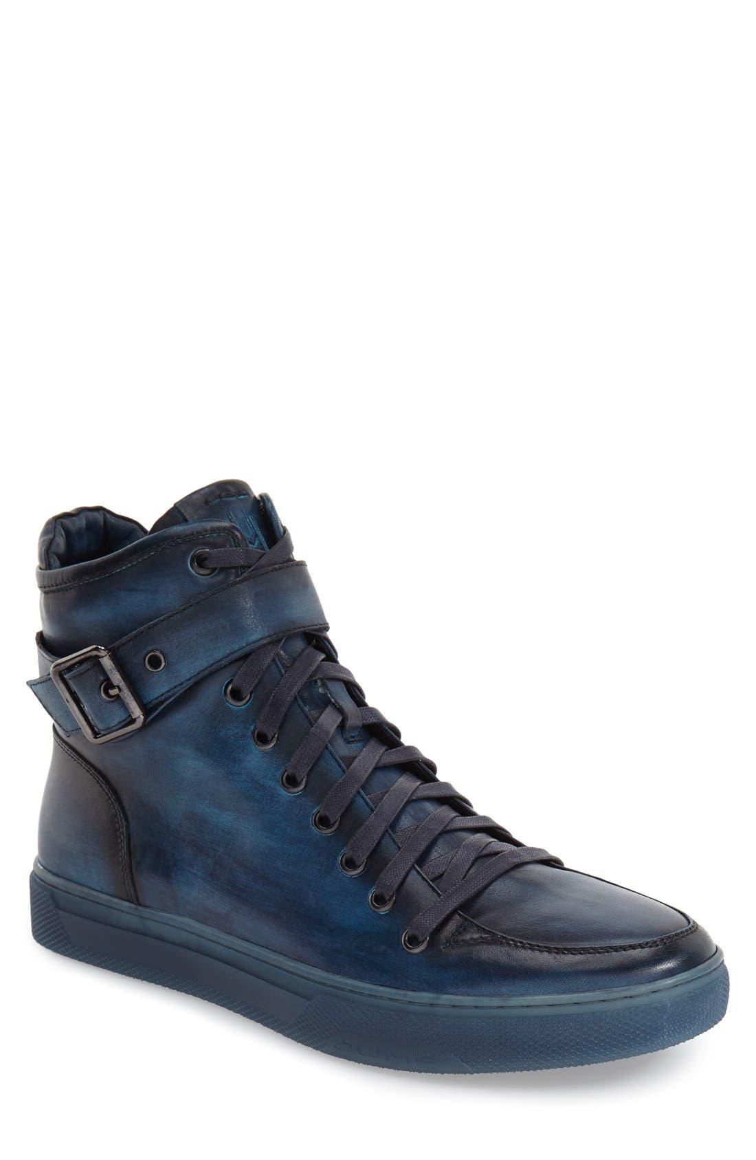 Jump Sullivan High Top Sneaker, Blue