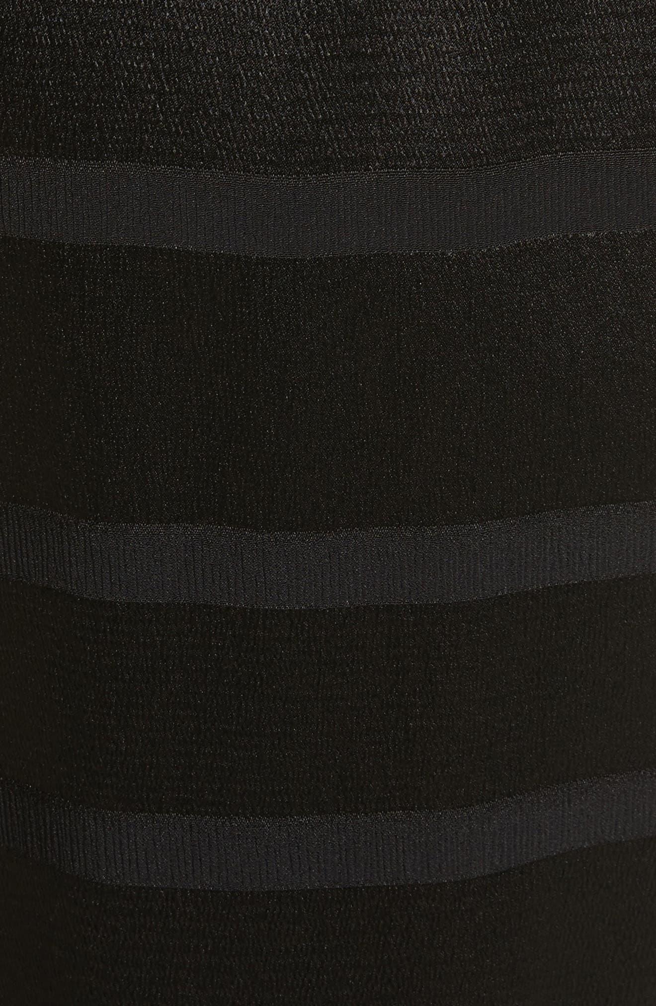 Steller Stripe Wrap Front Pants,                             Alternate thumbnail 5, color,                             001