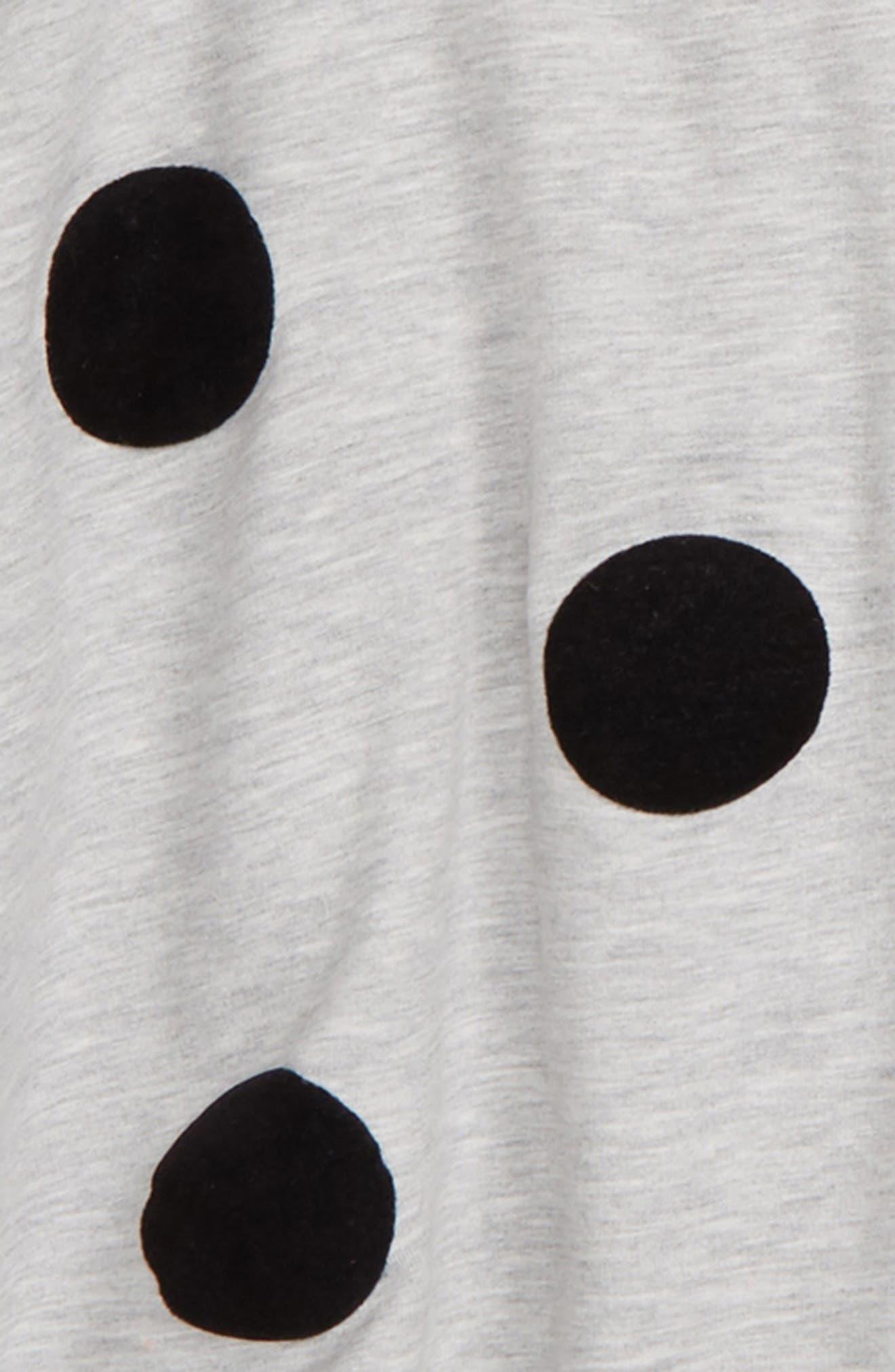 Polka Dot Hooded Cape,                             Alternate thumbnail 2, color,                             050