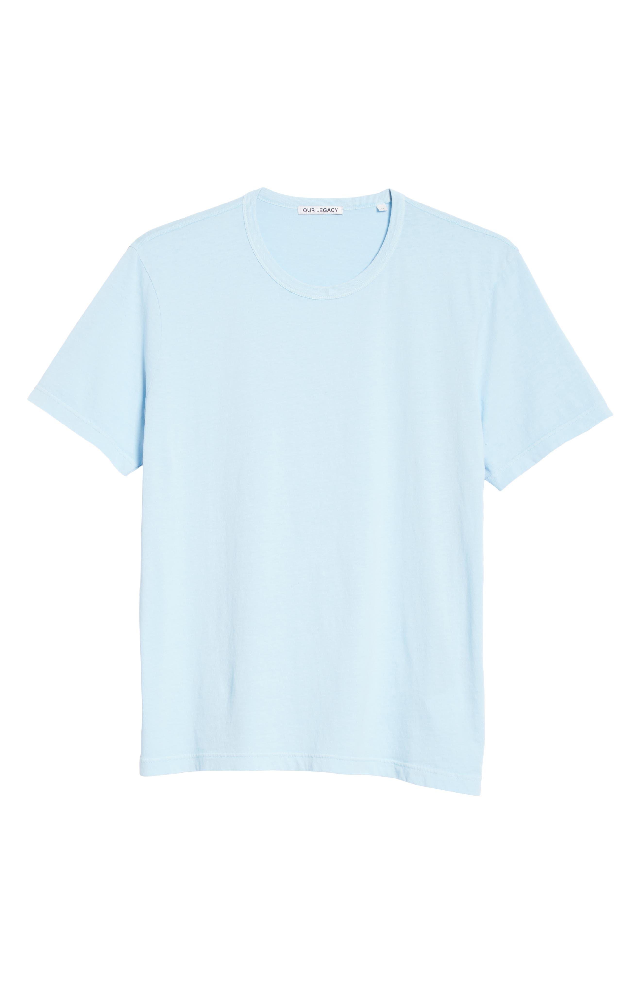 New Box T-Shirt,                             Alternate thumbnail 6, color,                             LIGHT BLUE