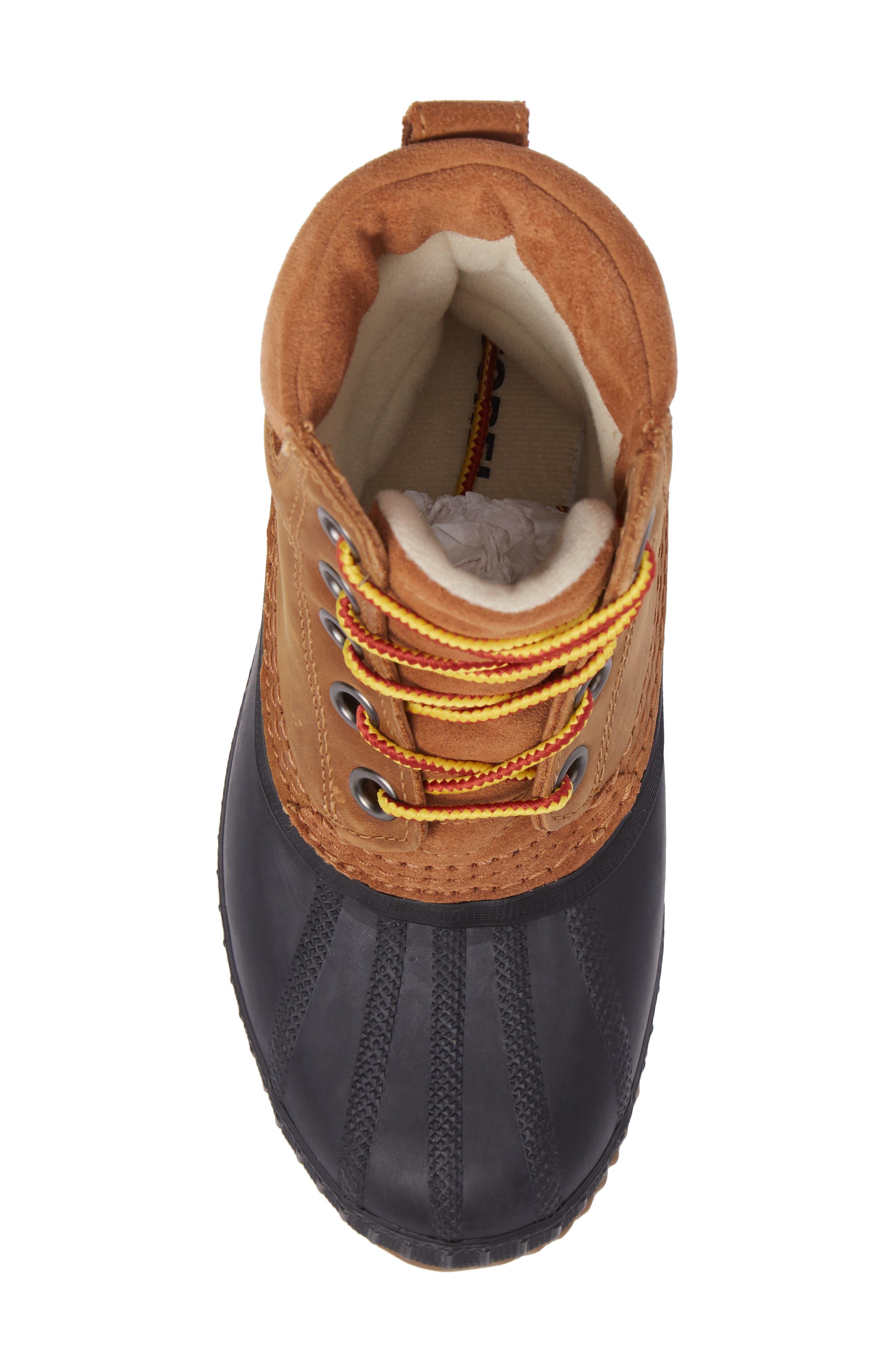 Cheyanne<sup>™</sup> II Waterproof Boot,                             Alternate thumbnail 5, color,                             ELK BLACK