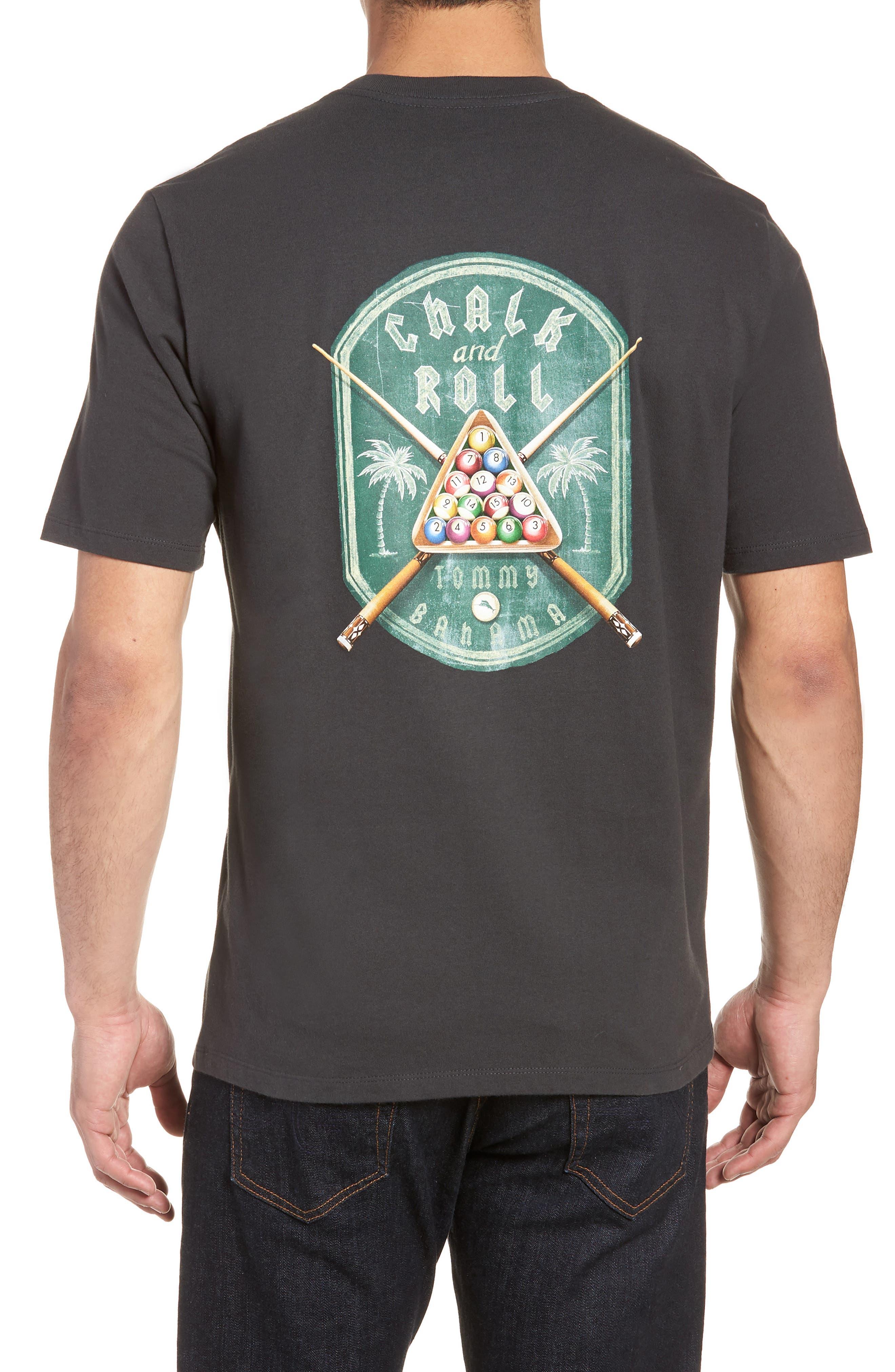 Chalk & Roll T-Shirt,                             Alternate thumbnail 2, color,                             001