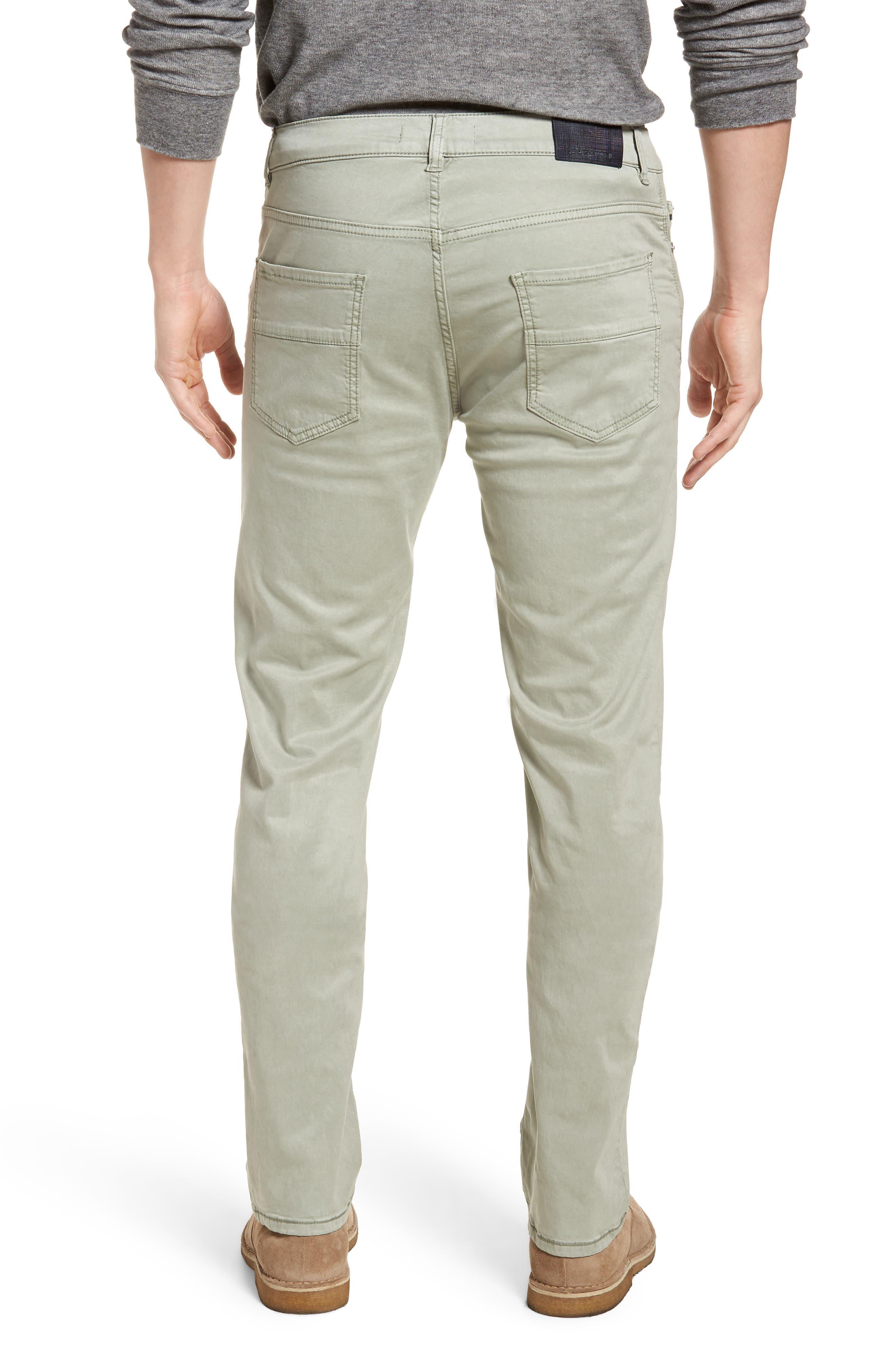 Slim Fit Washed Five-Pocket Pants,                             Alternate thumbnail 6, color,