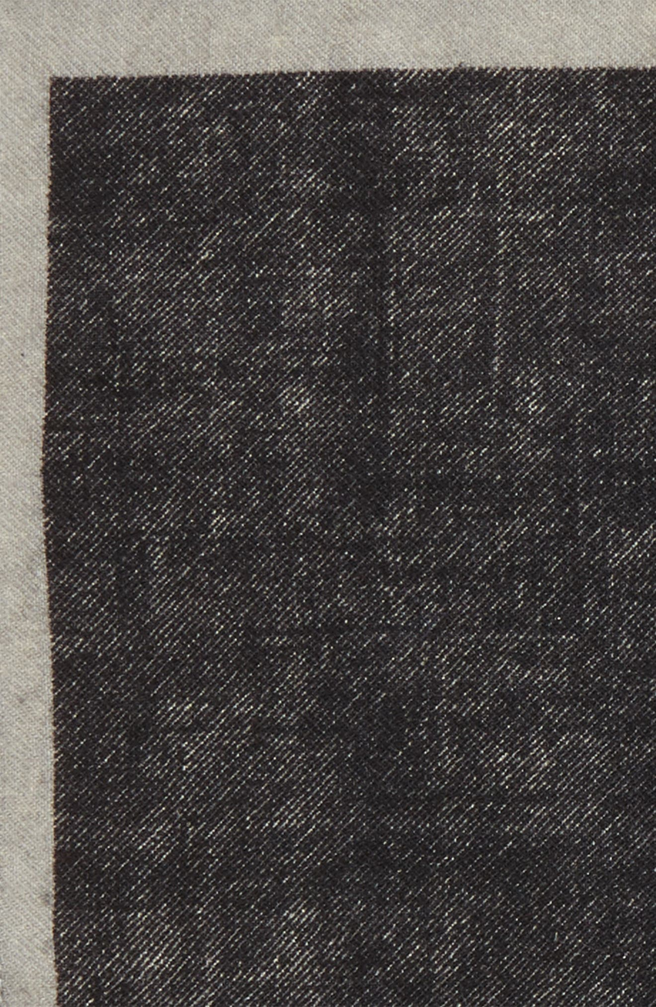 Solid Wool Pocket Square,                             Alternate thumbnail 3, color,                             061