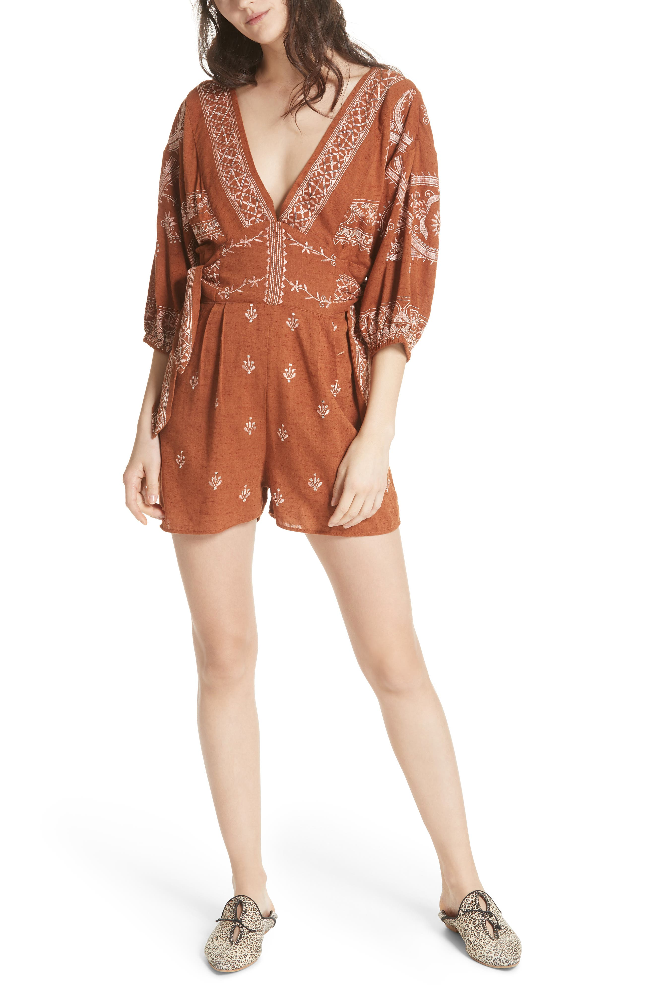 Azalia Romper,                         Main,                         color, 210